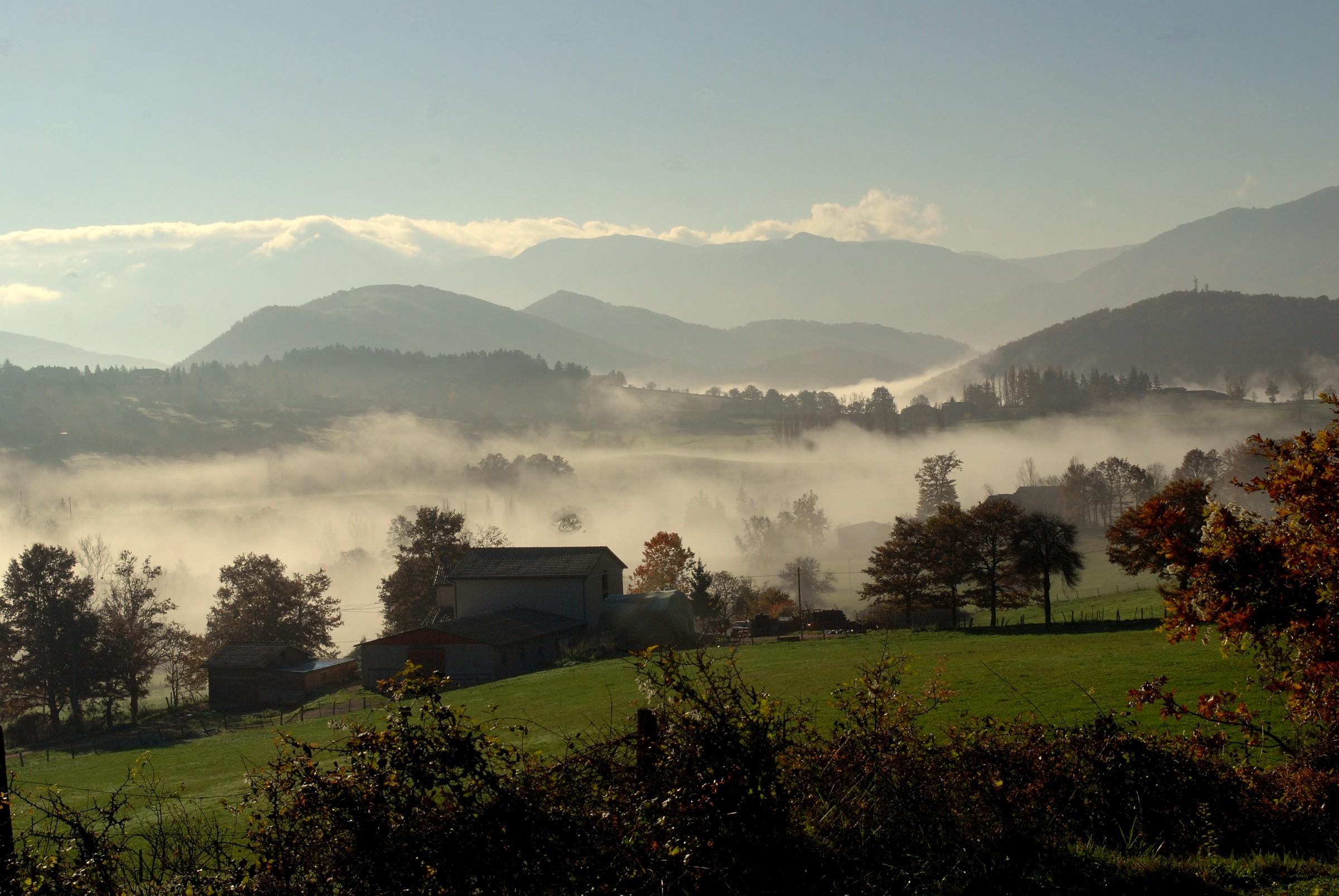 Autumn landscape in Valnerina...
