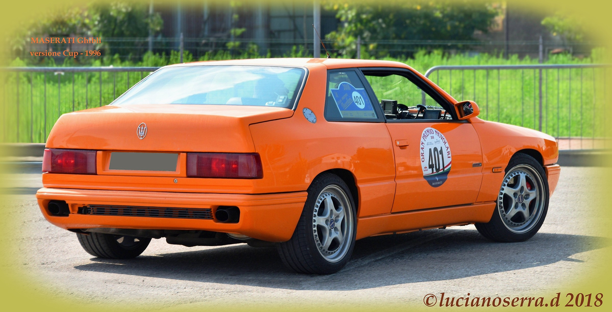 Maserati Ghibli versione Cup - 1996   JuzaPhoto