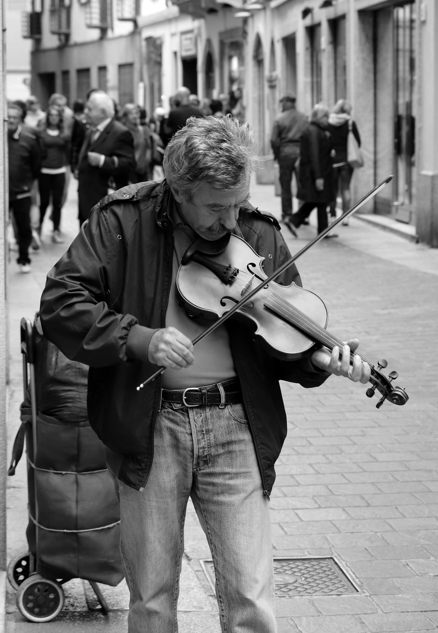 Music on the street...