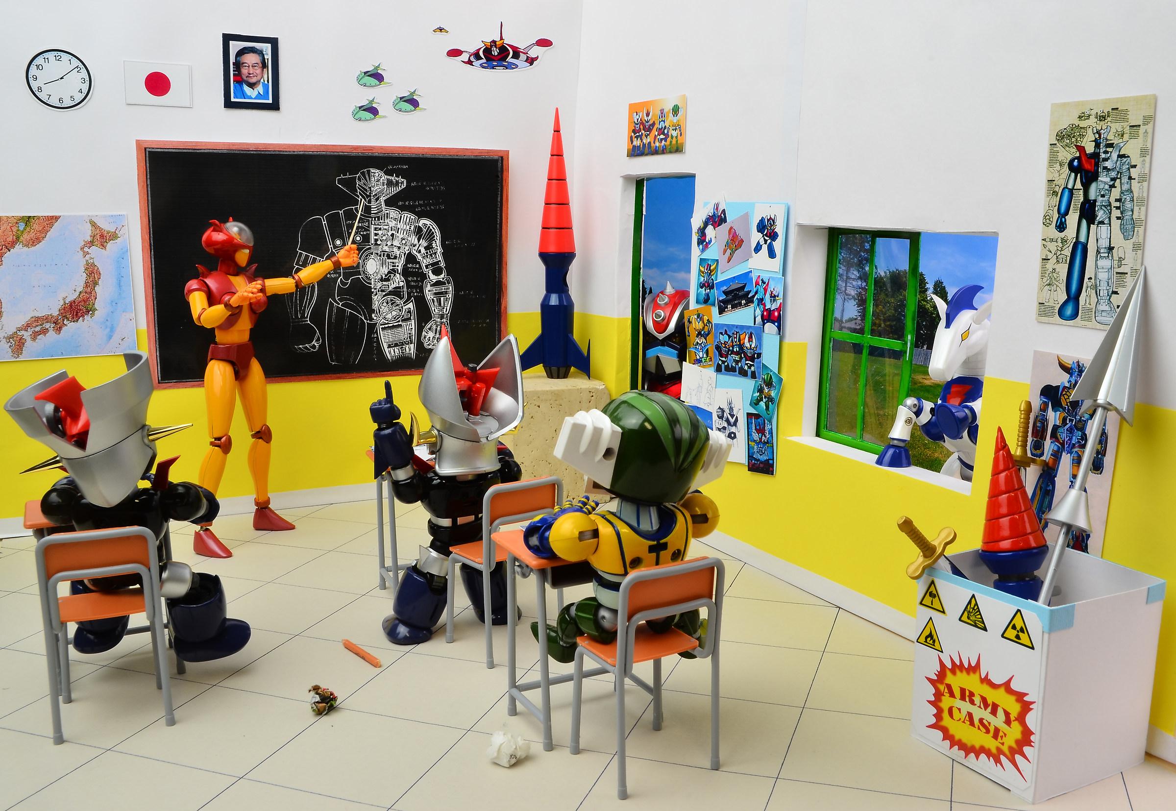 A class of Super Robots....