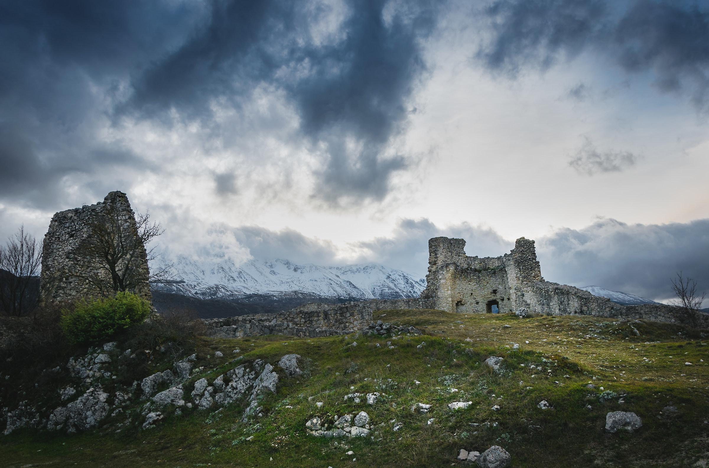 Rocca di sant'eusanio forconese, gennaio 2018...