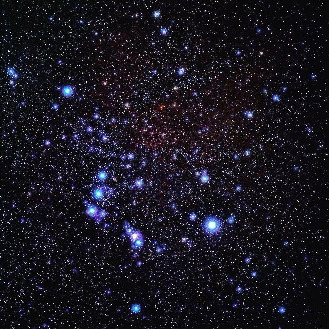 Among the stars...