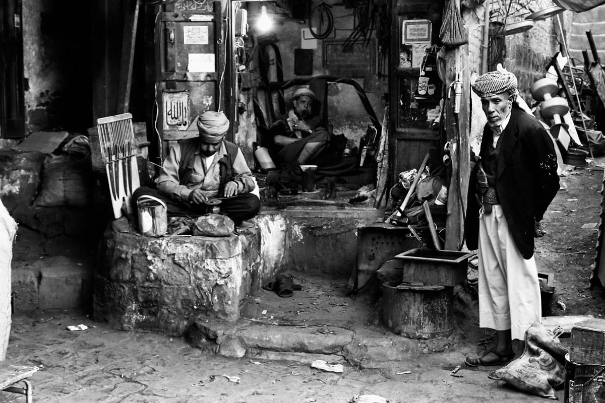 The Blacksmith of Sana'a...