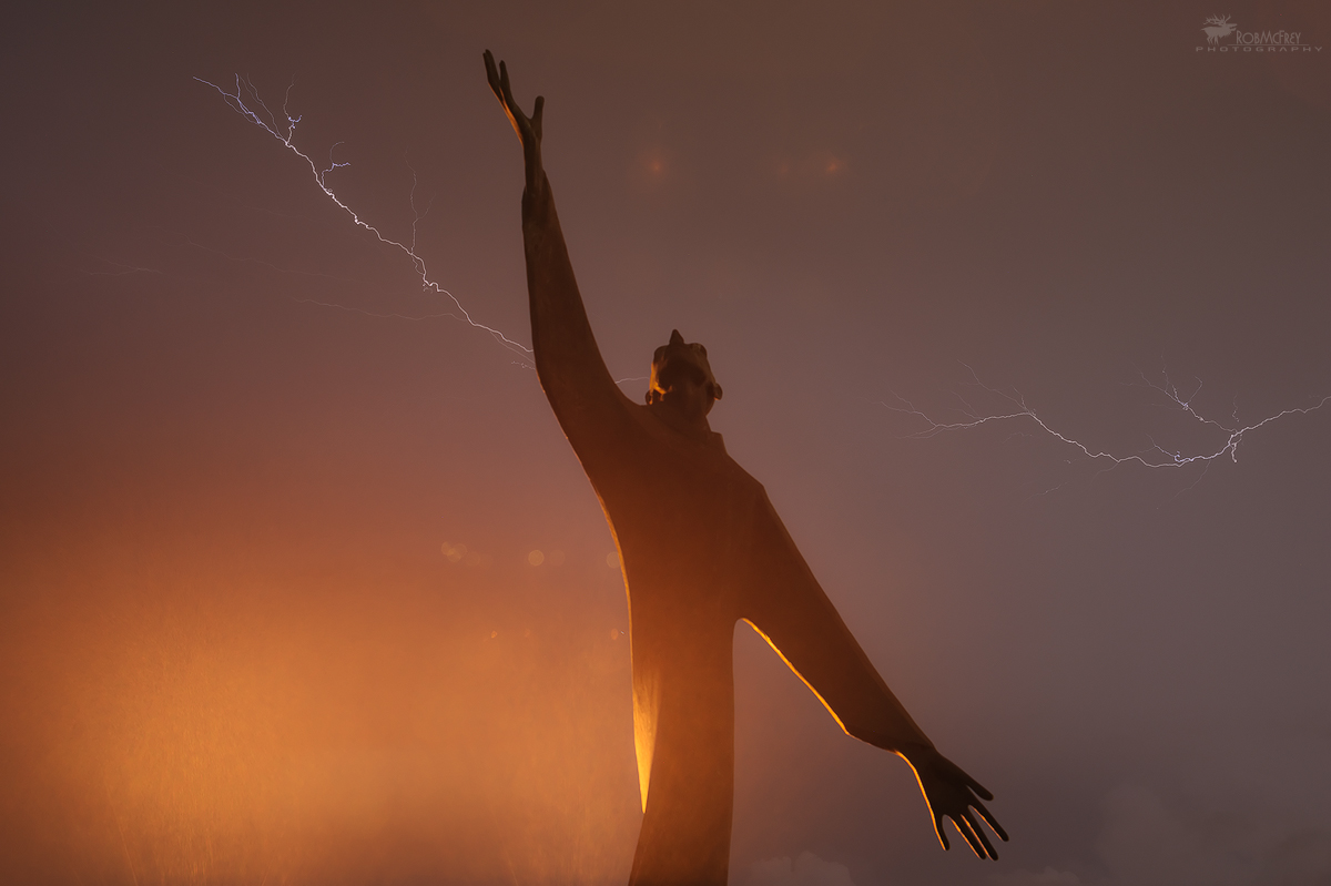 St. Francis and Lightning...