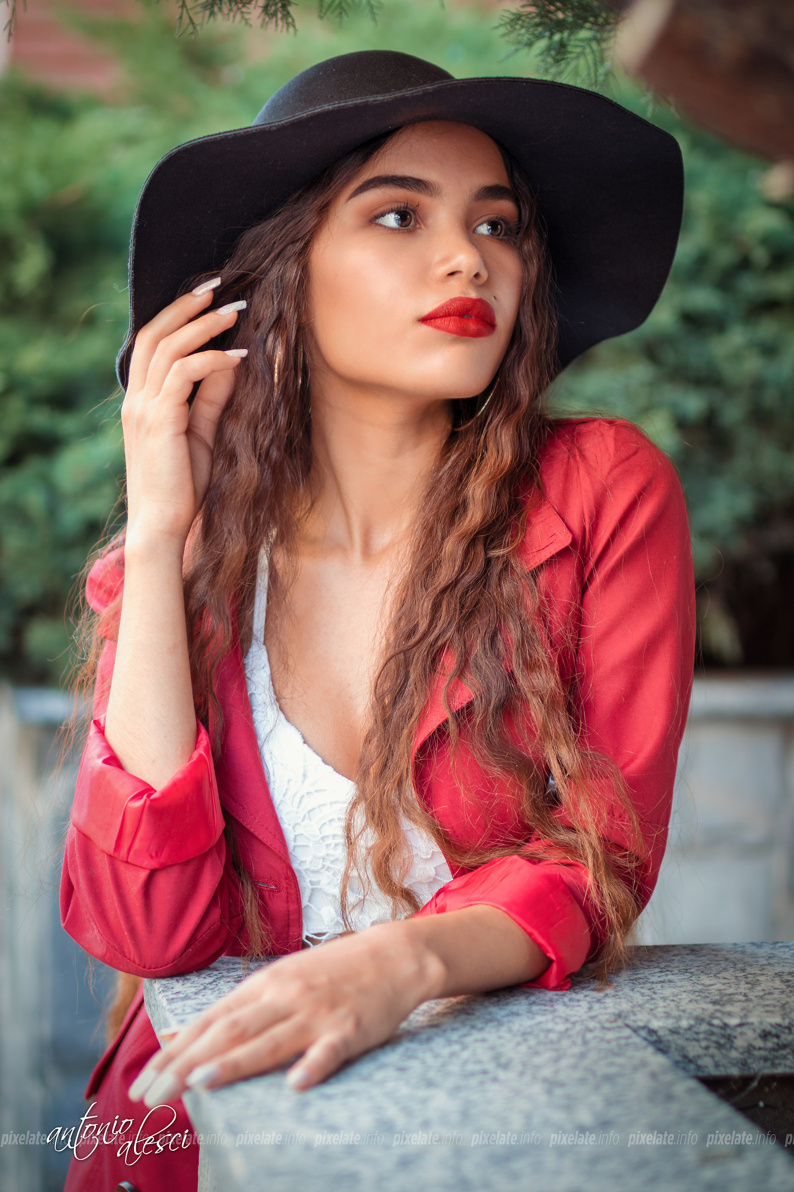 Girl with Hat...
