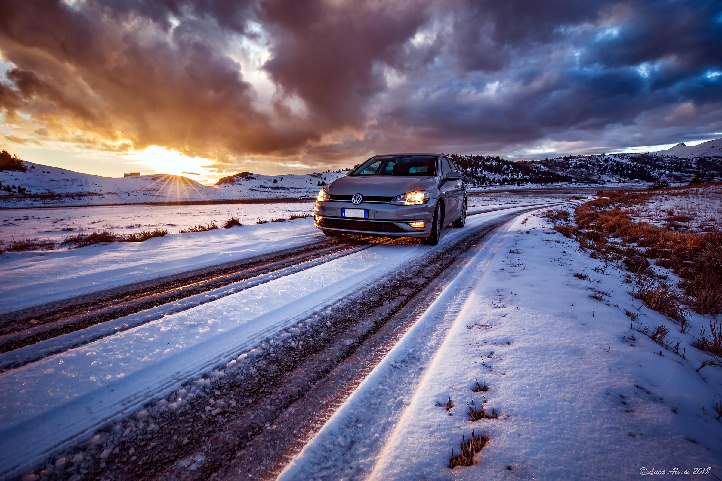 Ice road...