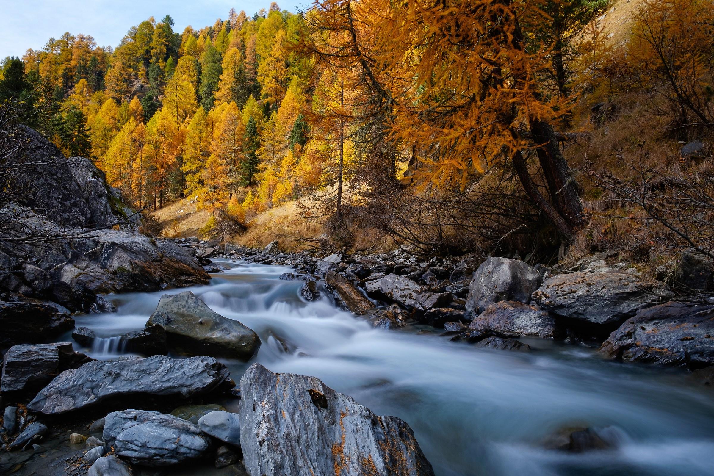 Autumn in Val Martello...