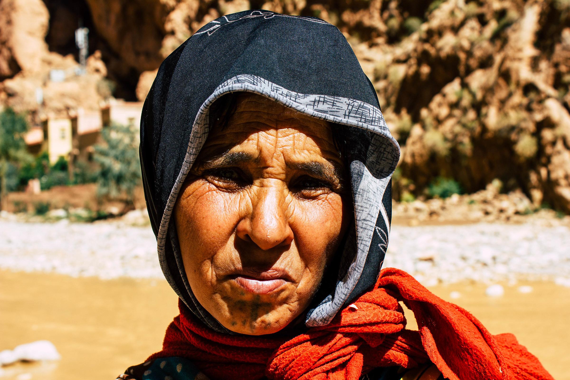 Berber face...