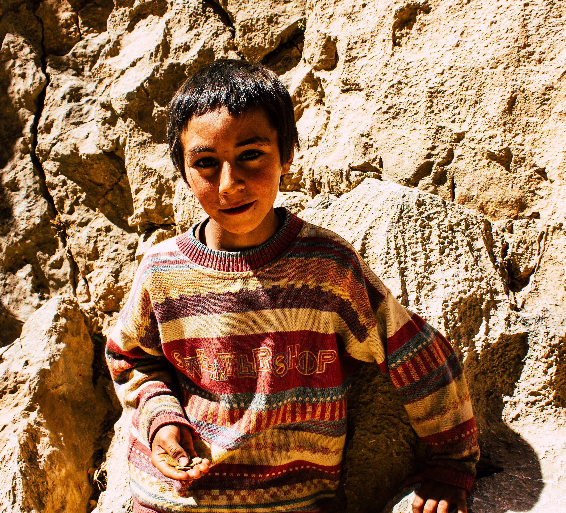 Berber child at Dades Gorge...
