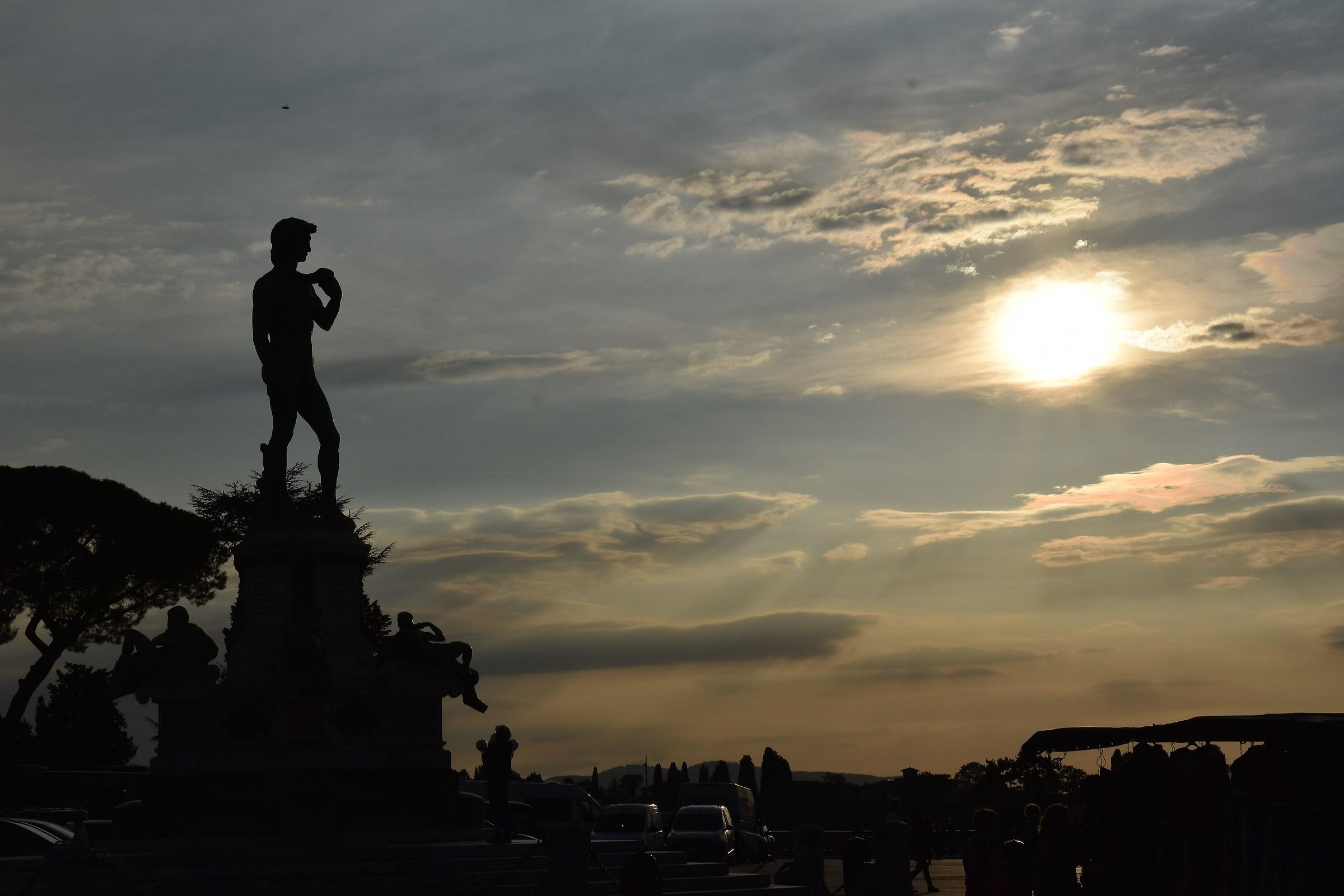 Piazzale Michelangelo...