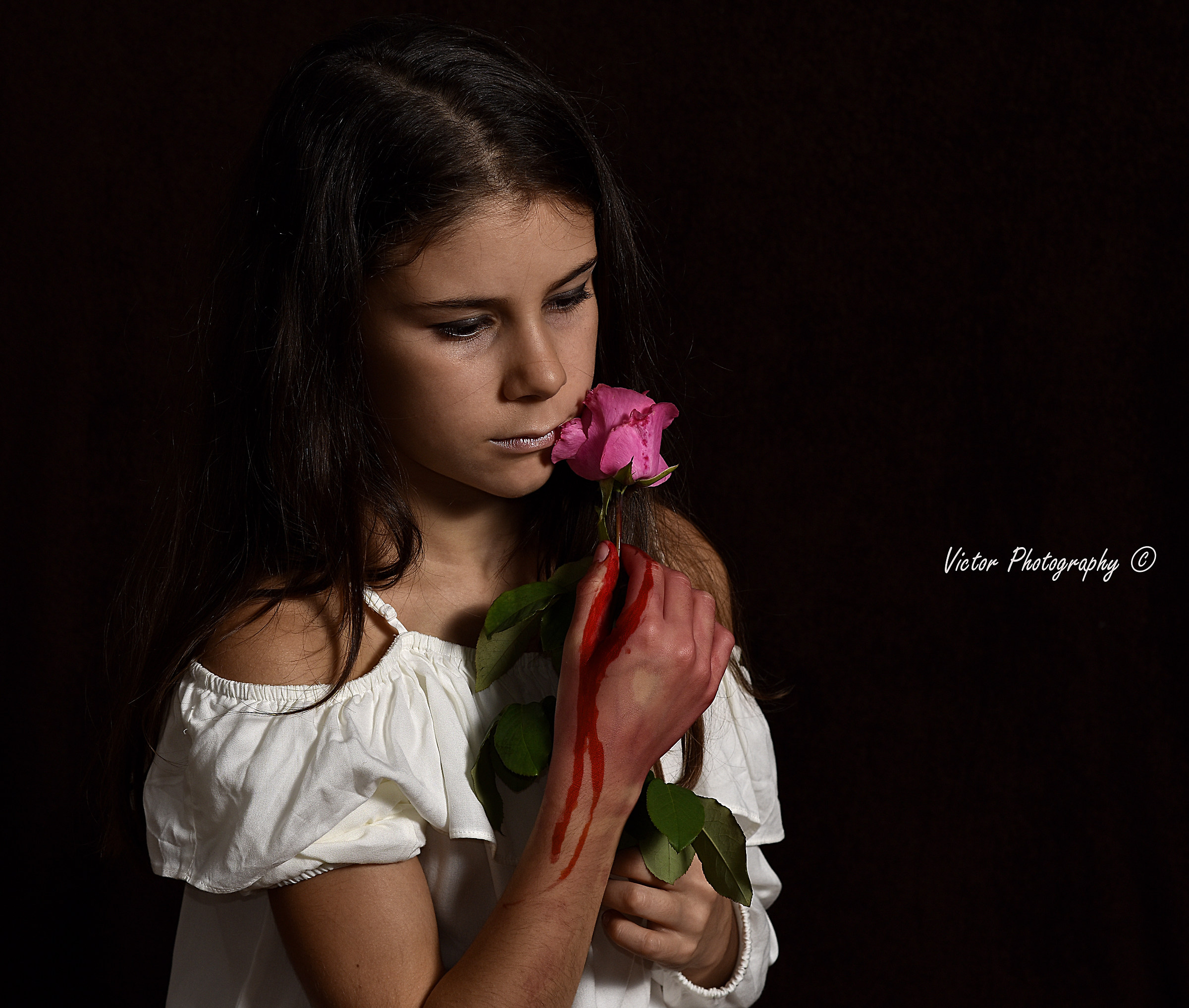 Learn my daughter, every Rose has her thorns...
