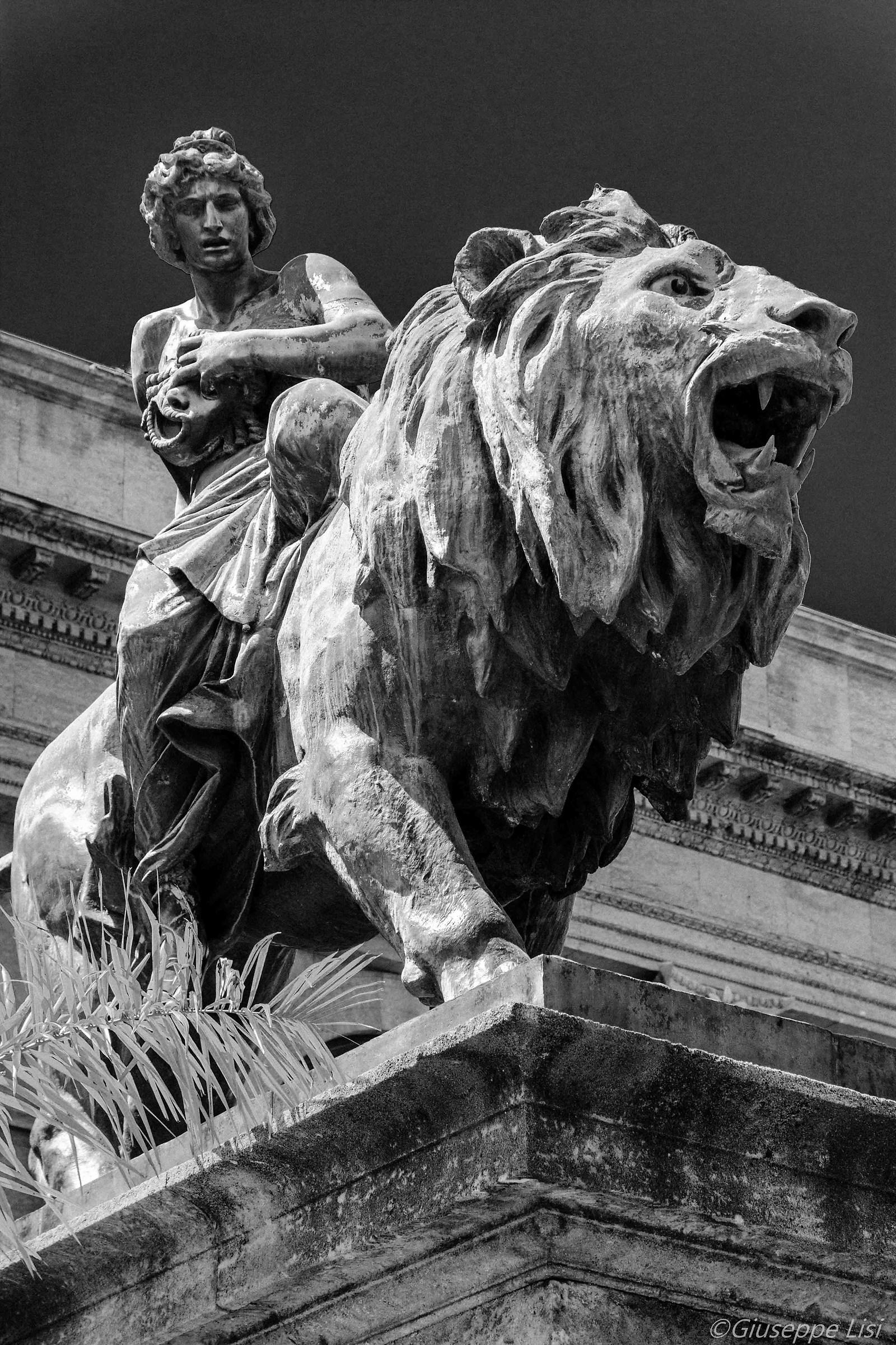 I leoni del teatro Massimo...