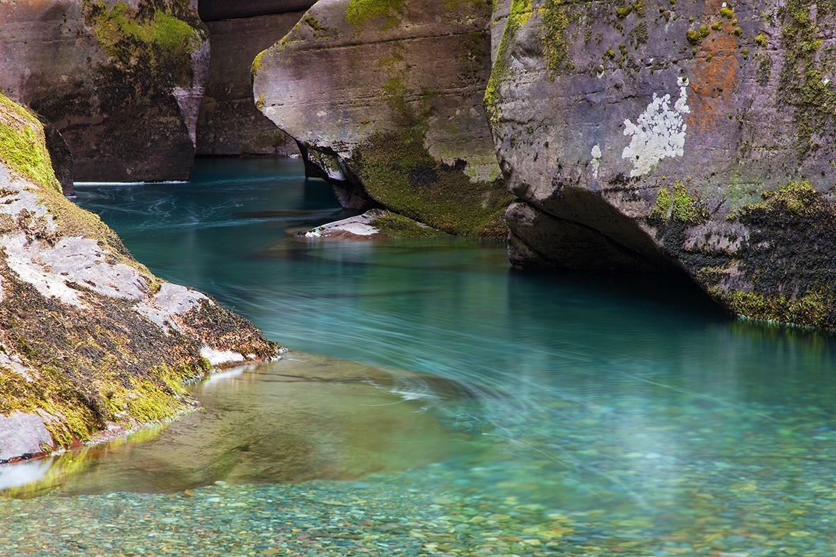 Avalanche creek...