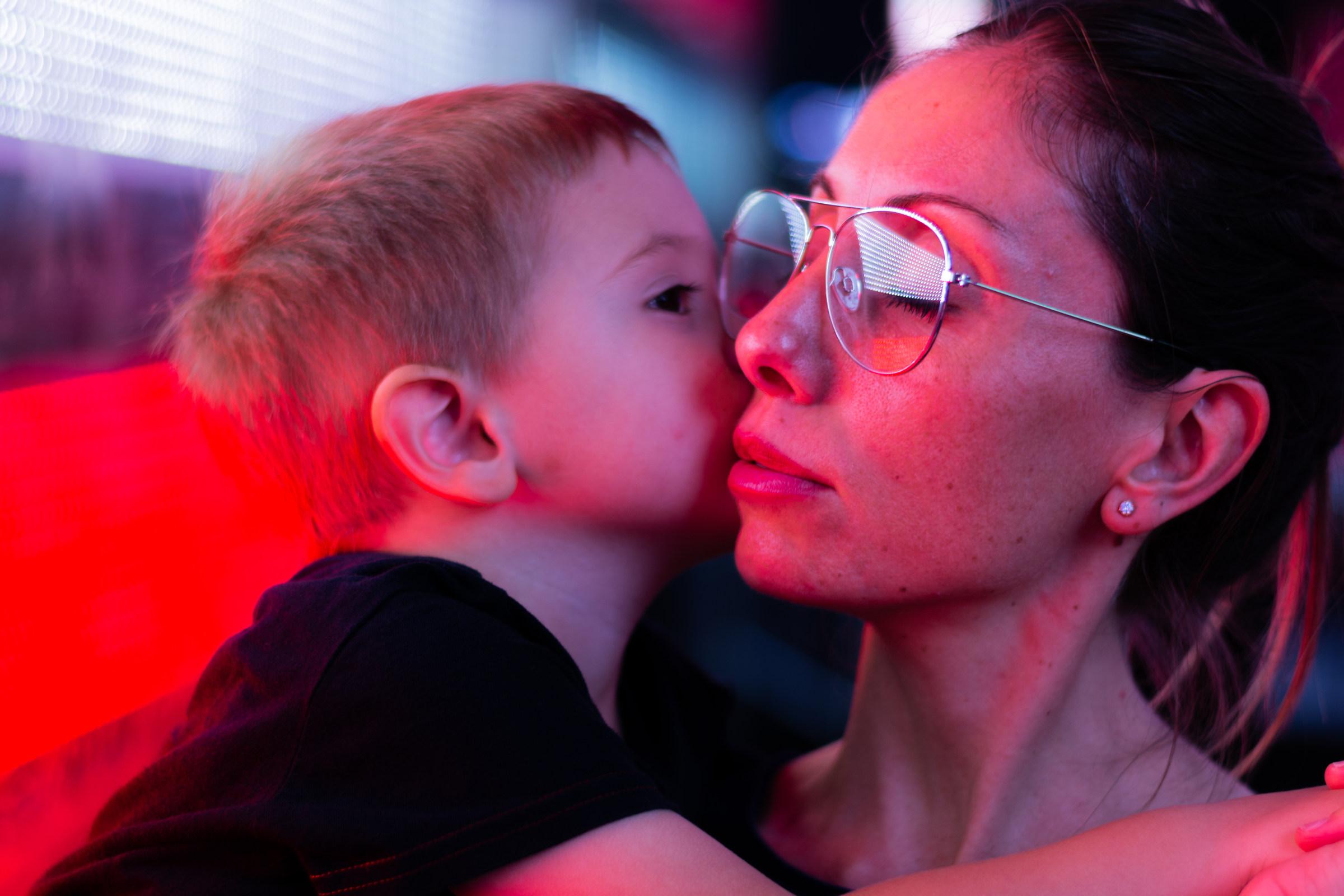 Maternal love...