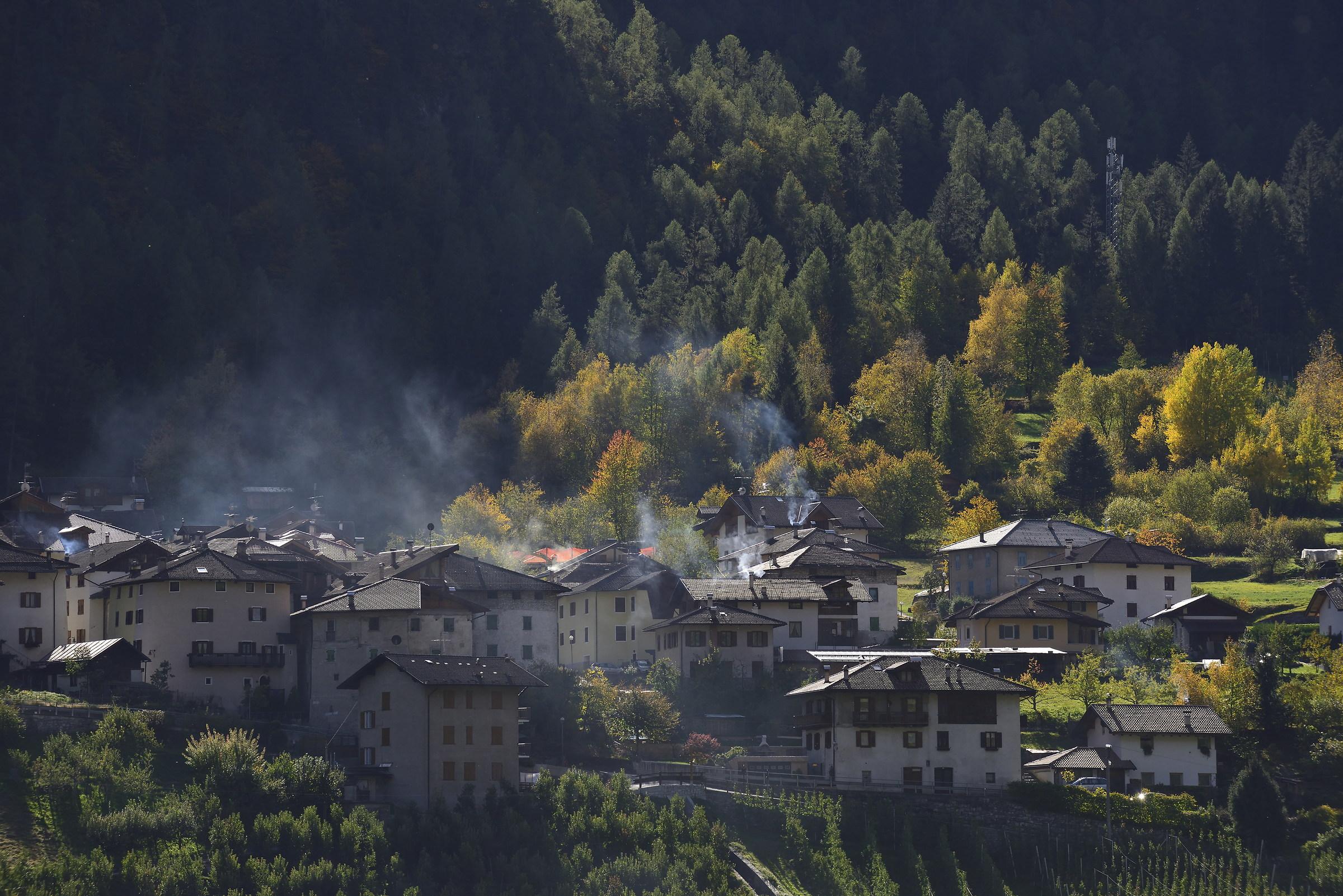 Autumnal chimneys...