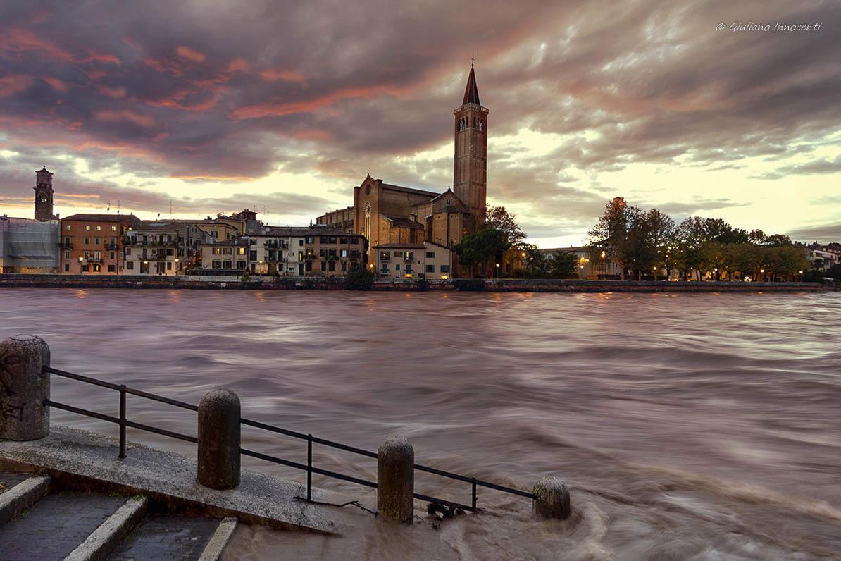 Alert flooding in Verona...