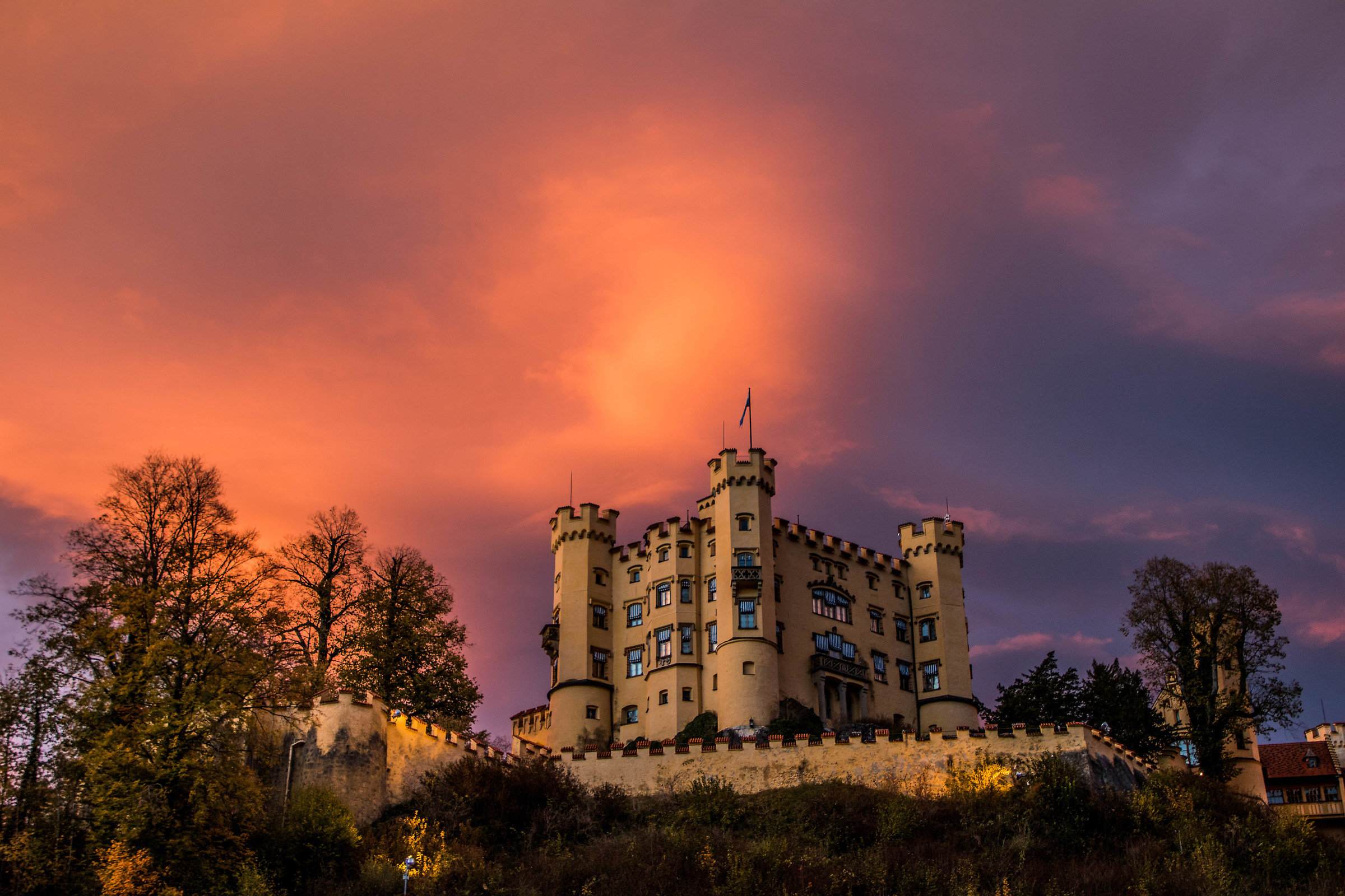 Hohenschwangau Castle...