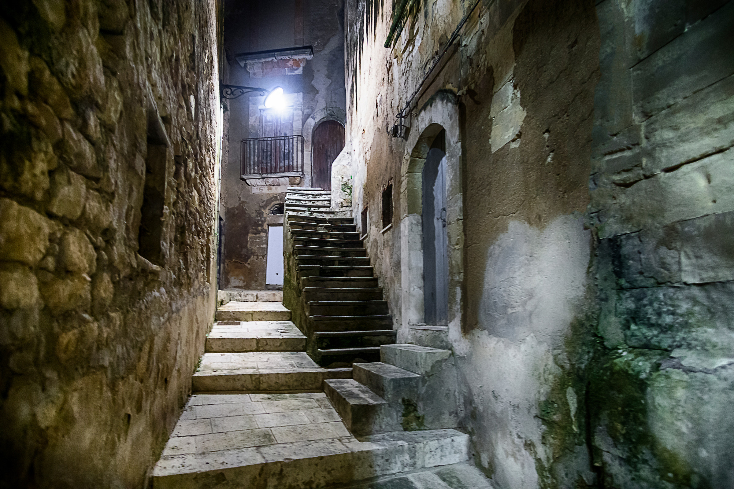 For alleys..... and steps...