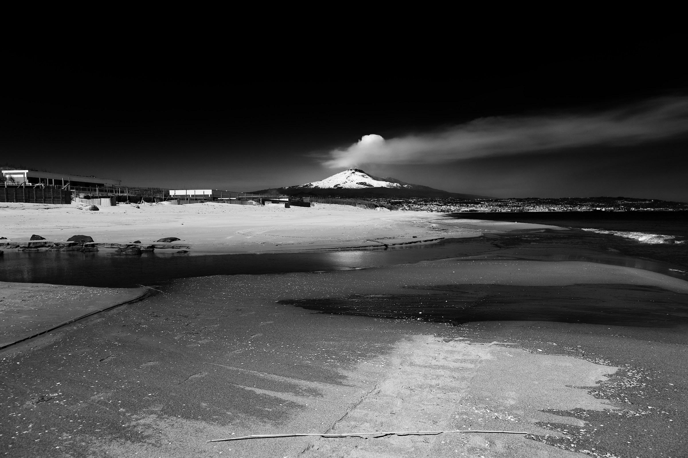 Playa di Catania e Etna...