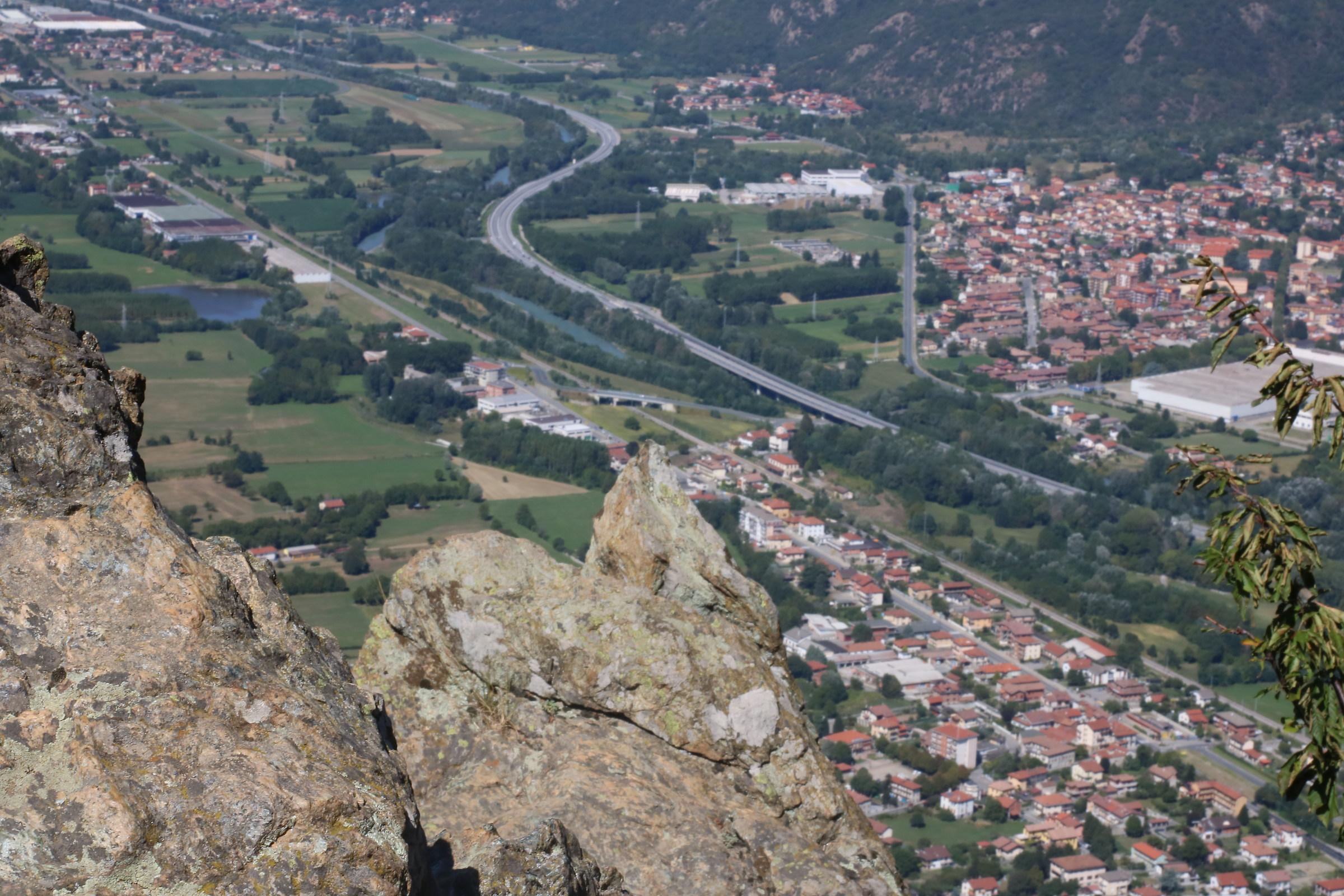 Piemonte vista aerea...
