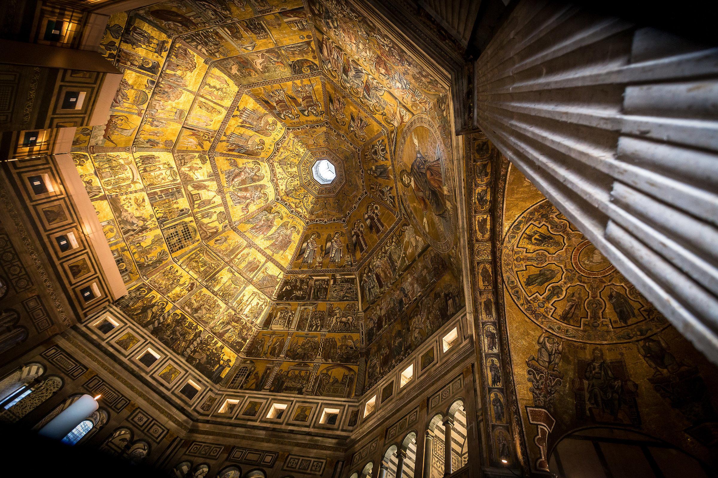 Internal Baptistery...
