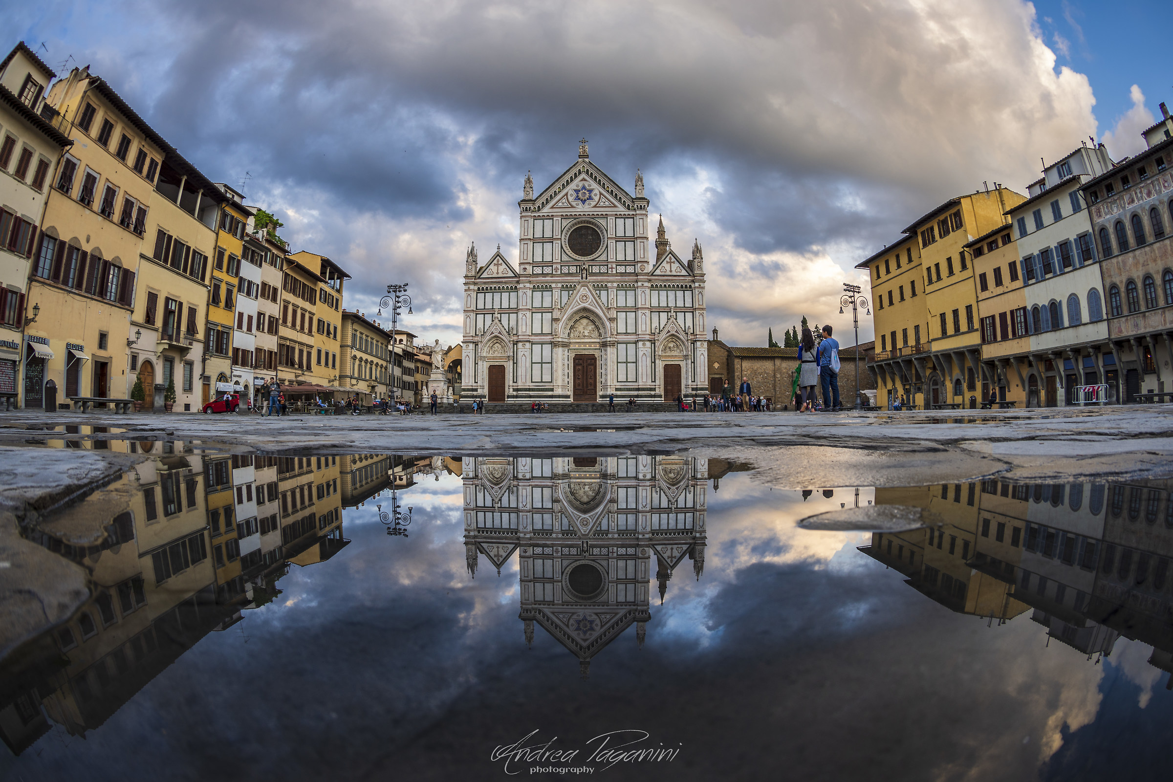 After the rain (Basilica of Santa Croce, Florence)...