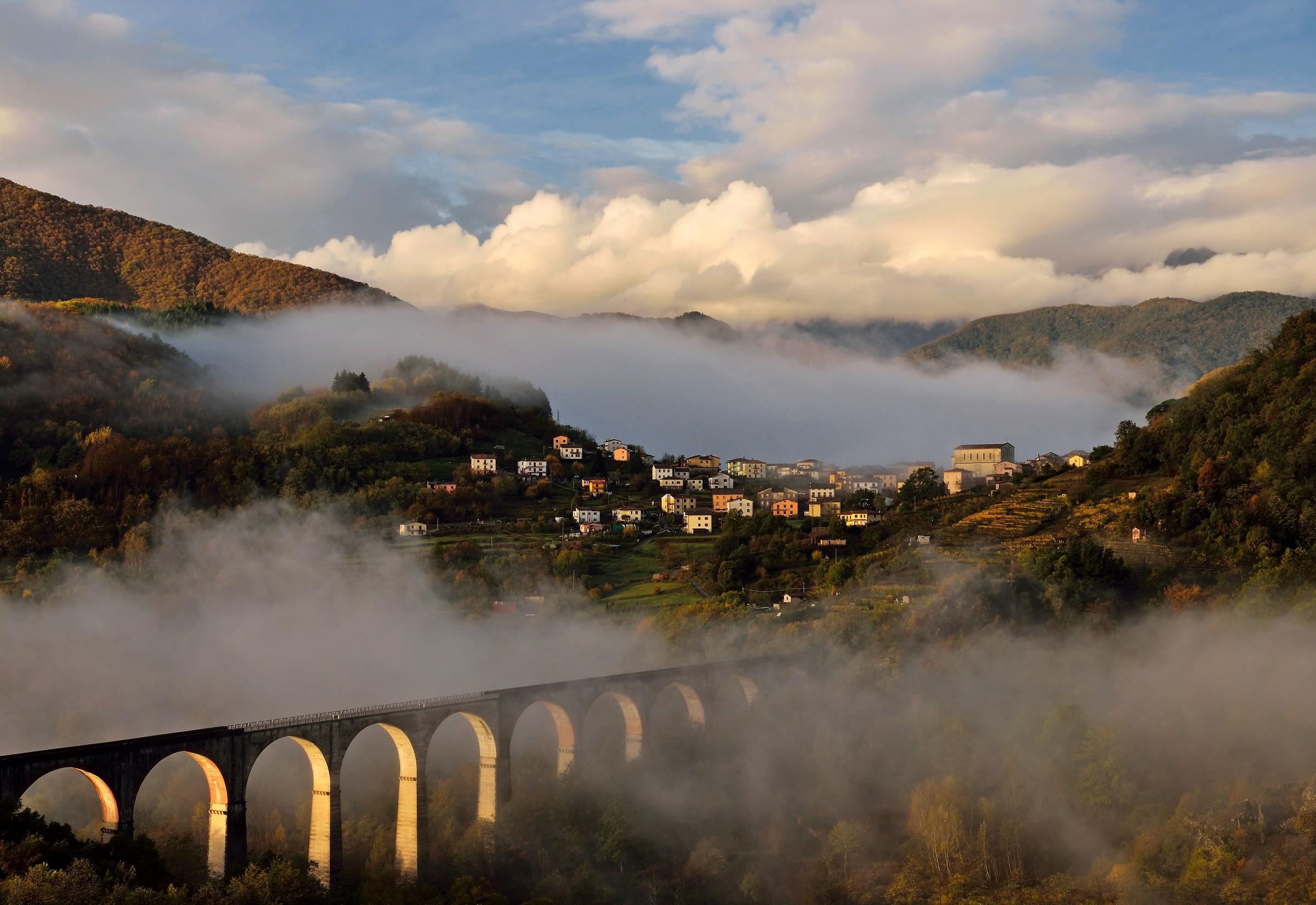 Bridge in the Fog...