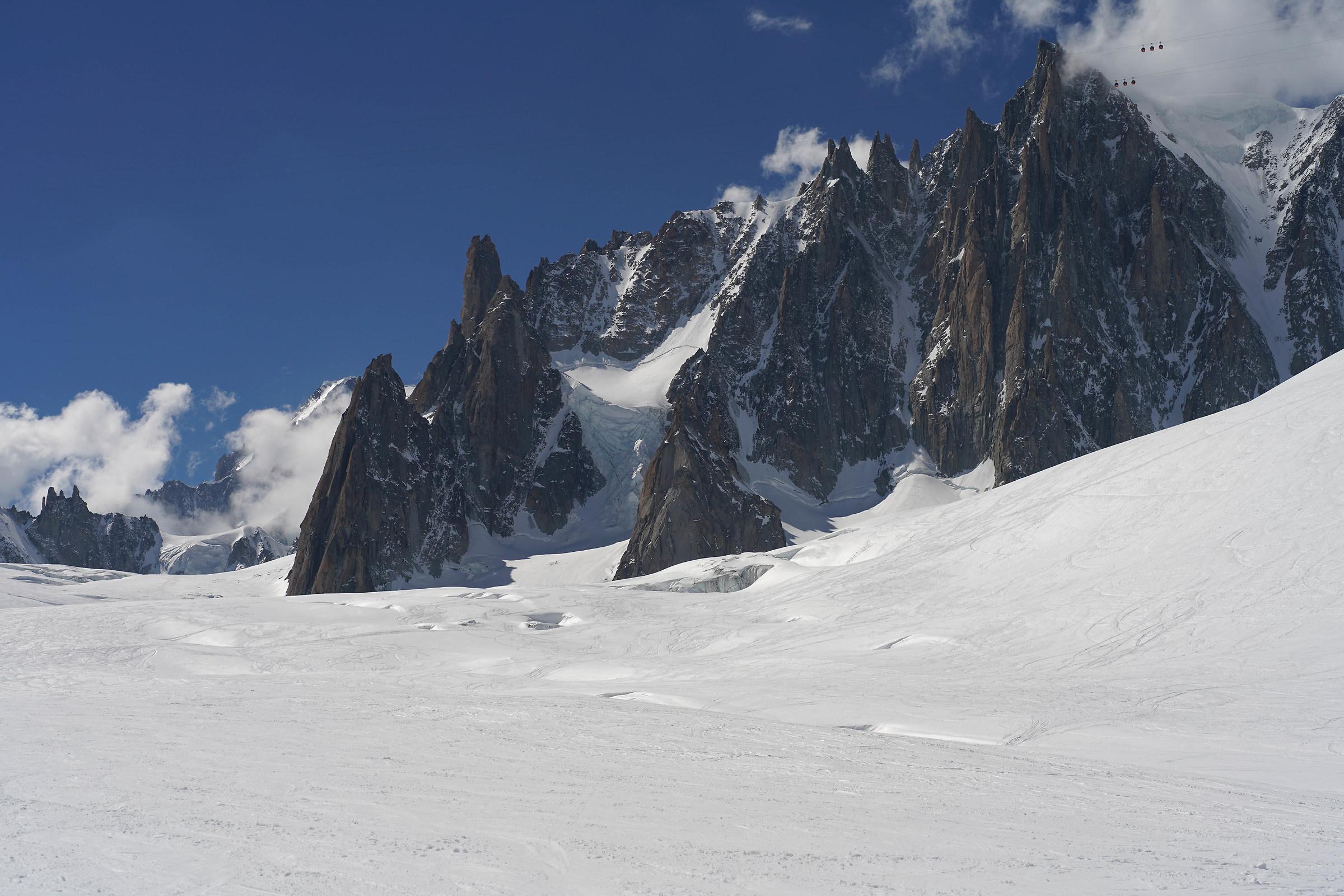 Vallee Blanche - Grande Capucin...