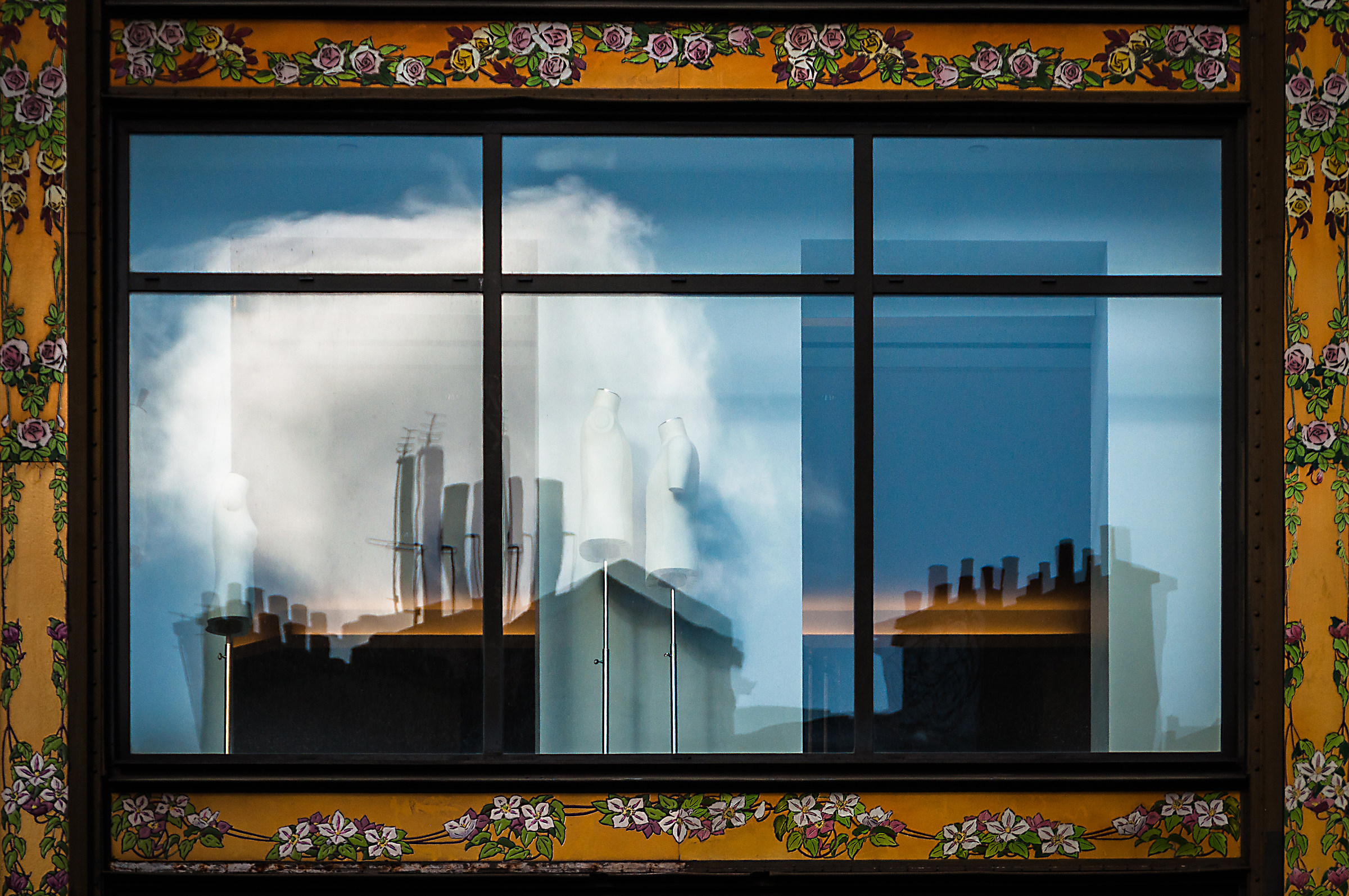 Reflections of overlapping realities...-Revisited...