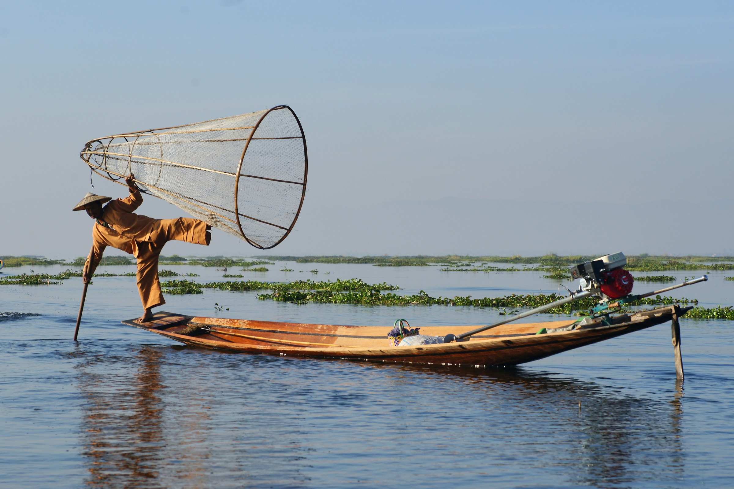Appearing of Lake Inle...