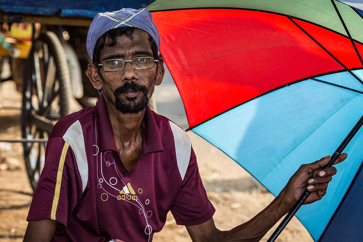 Umbrellas service!...