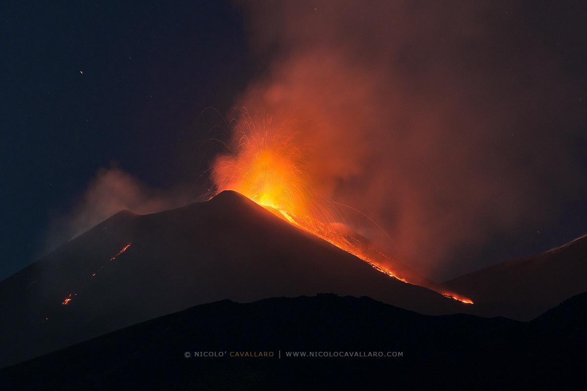 Etna-August 24, 2018...