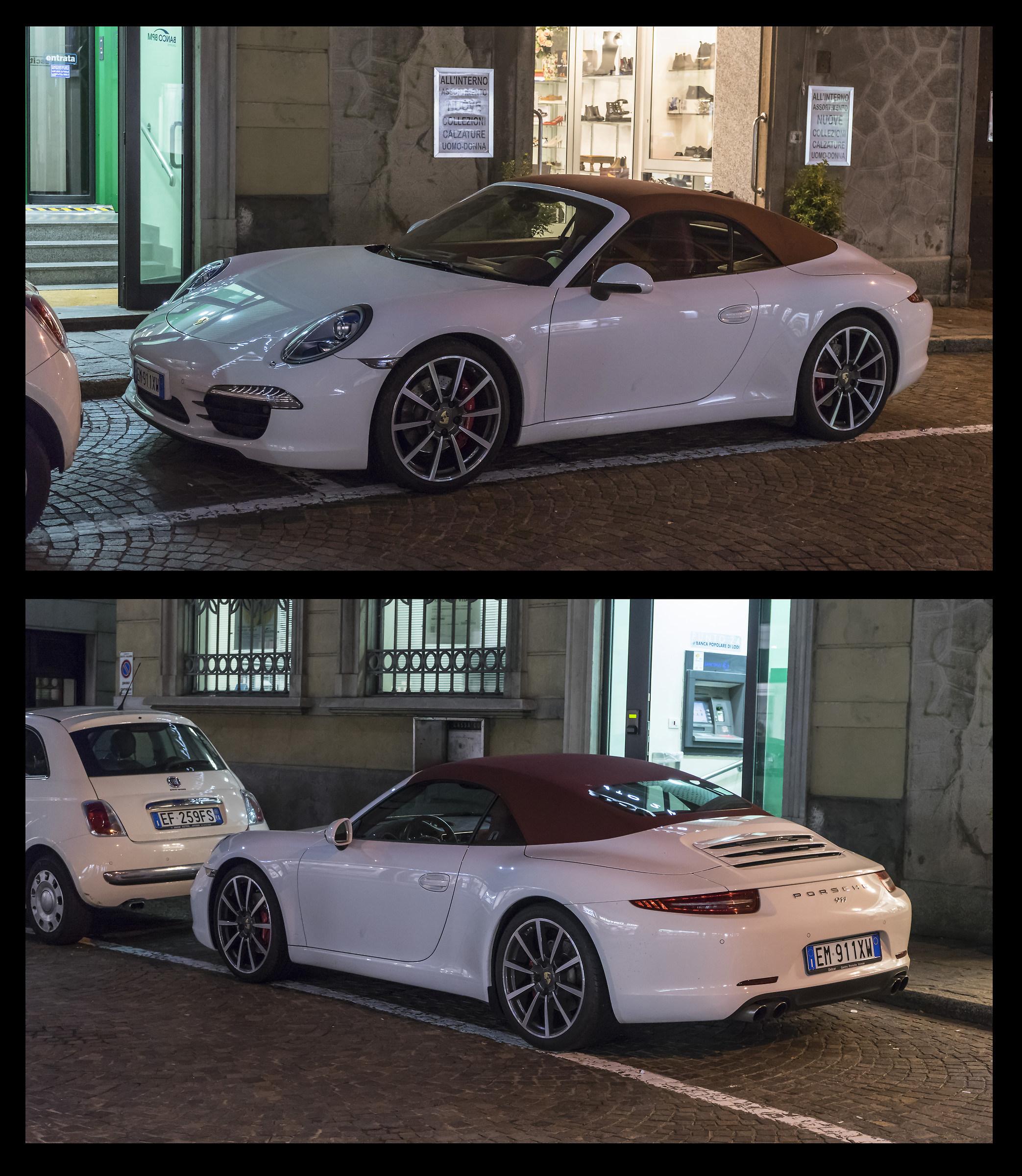 Porsche 911-991 Convertible...