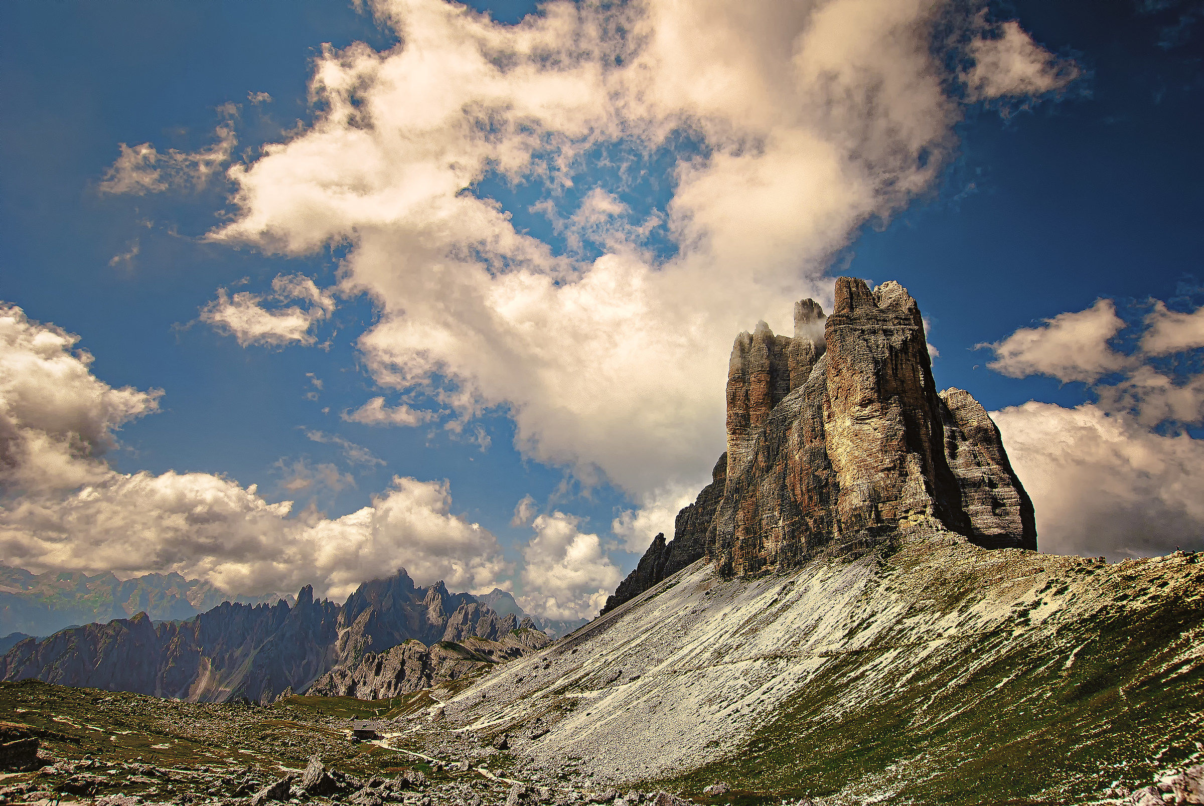 """The """"Heart"""" of the Dolomites..."""
