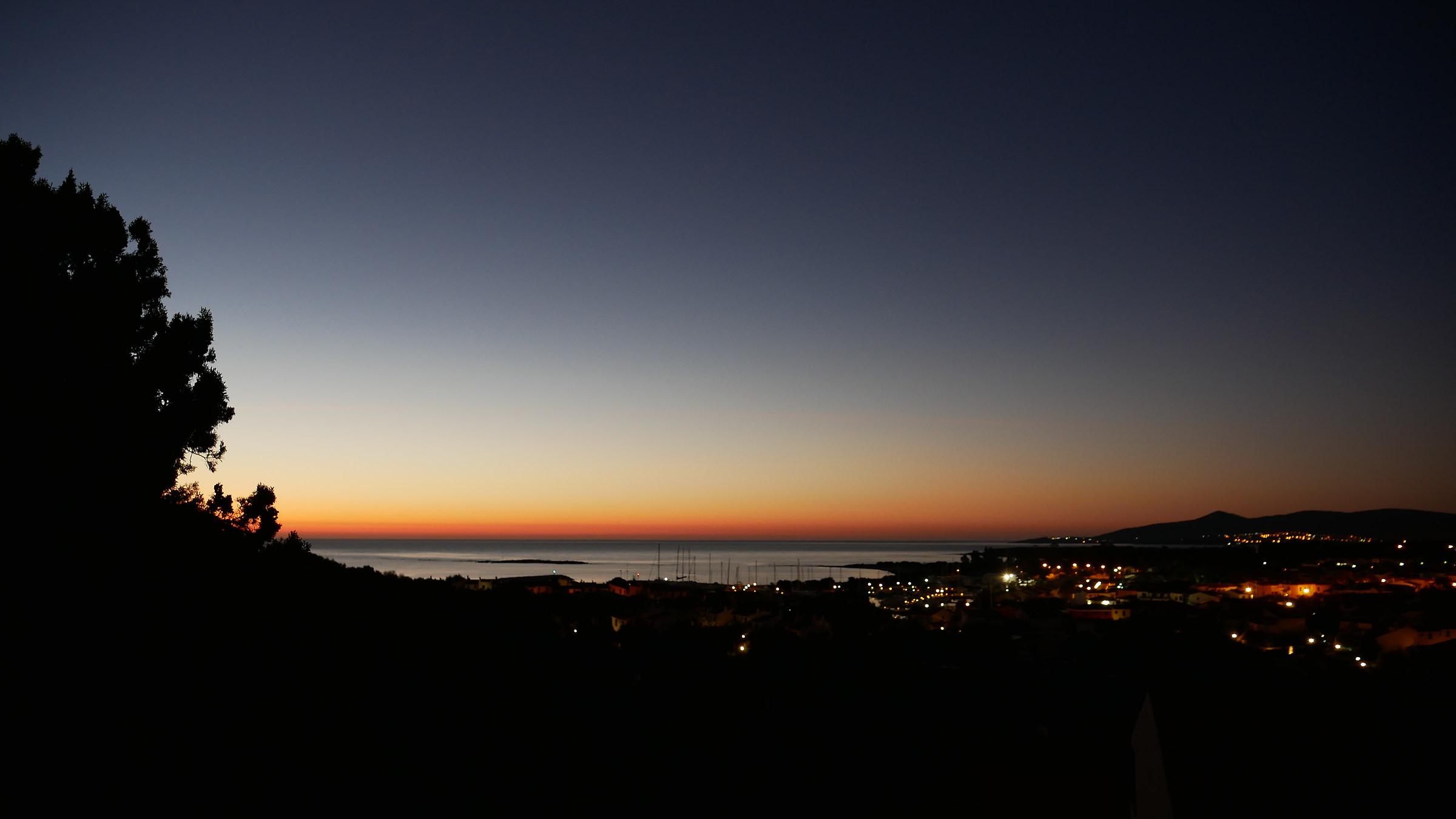 alba a Porto Ottiolu...