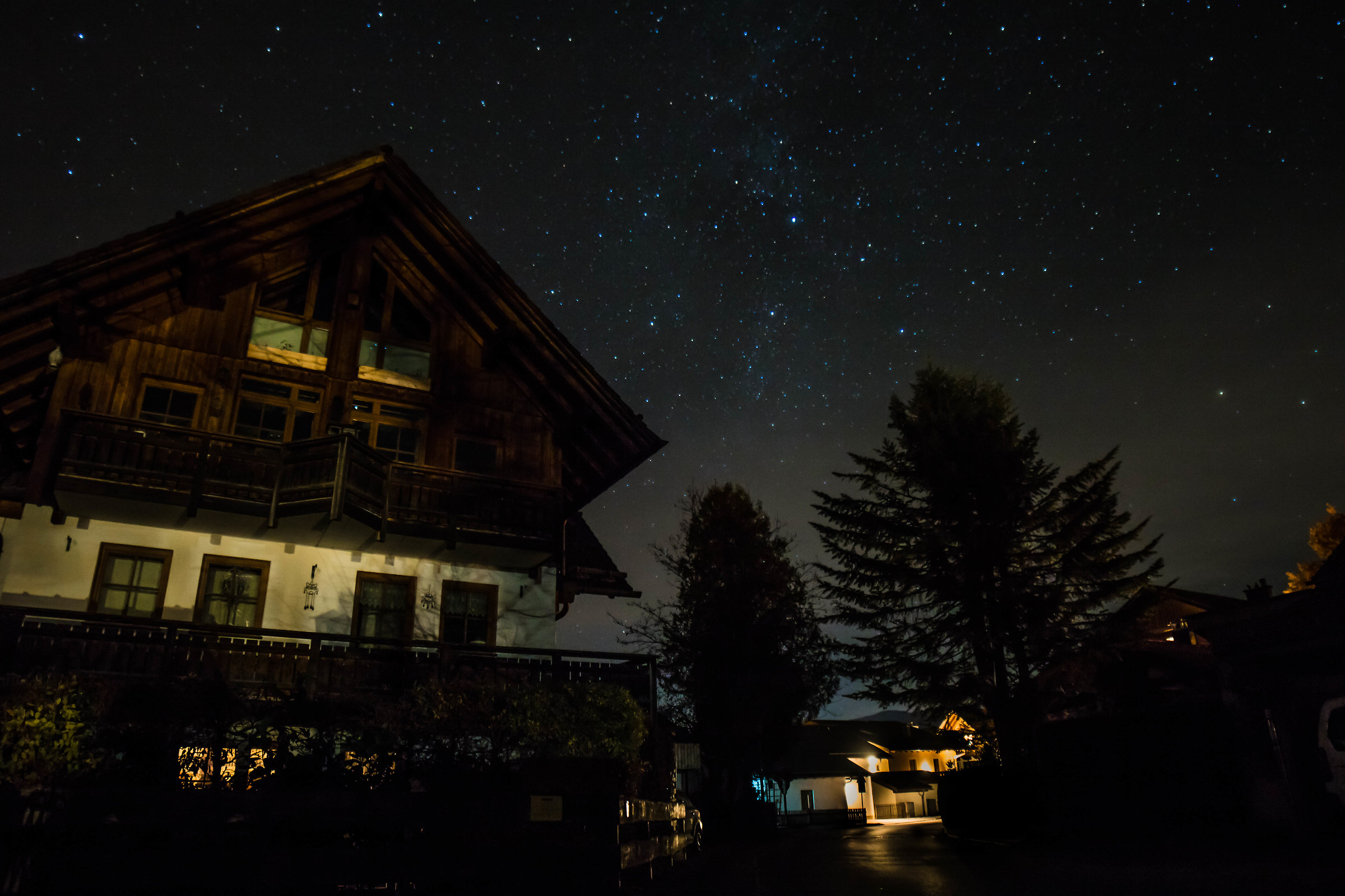 The House among the stars...