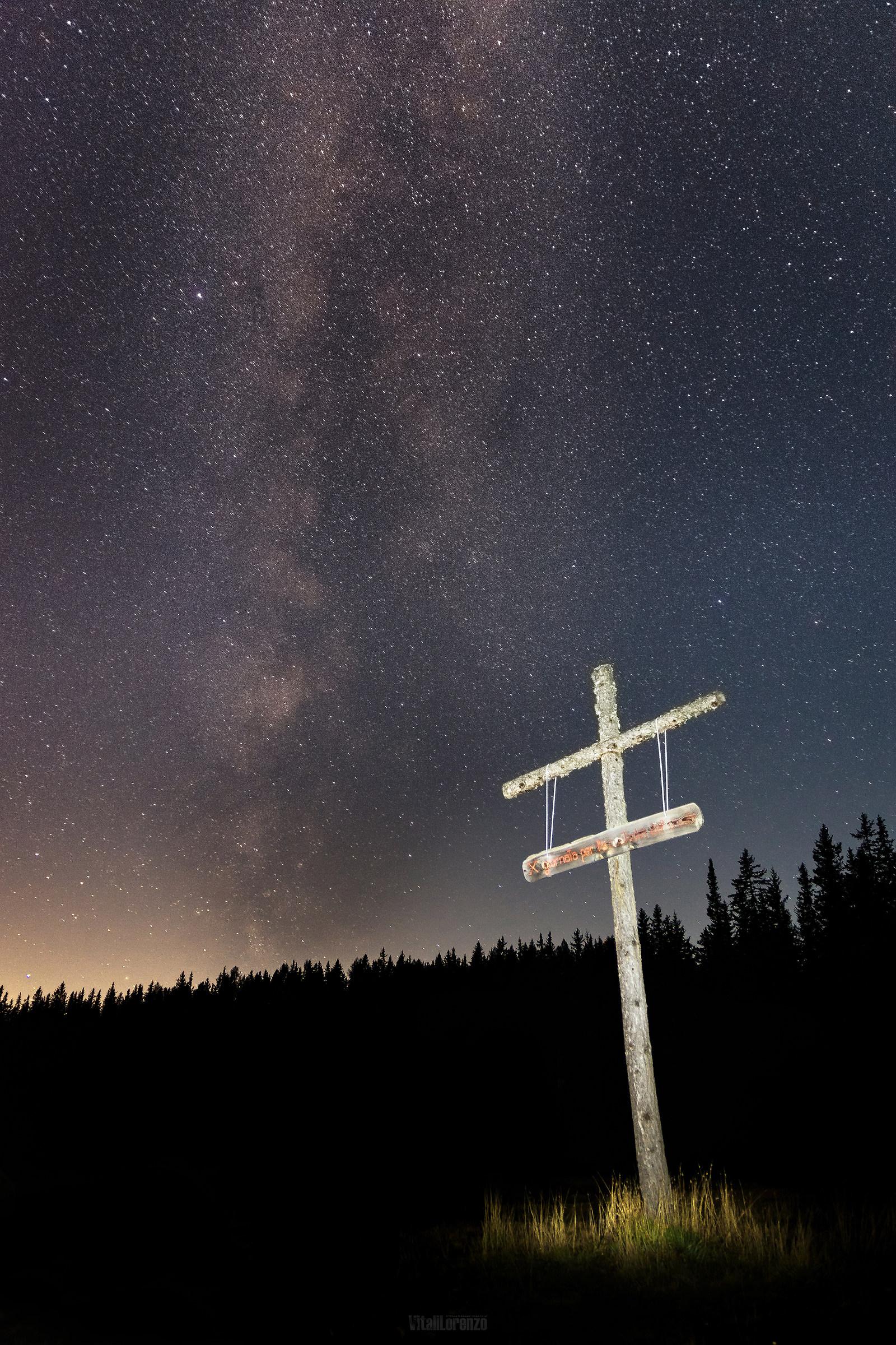 Milky Way to Lake Palù (Valmalenco)...