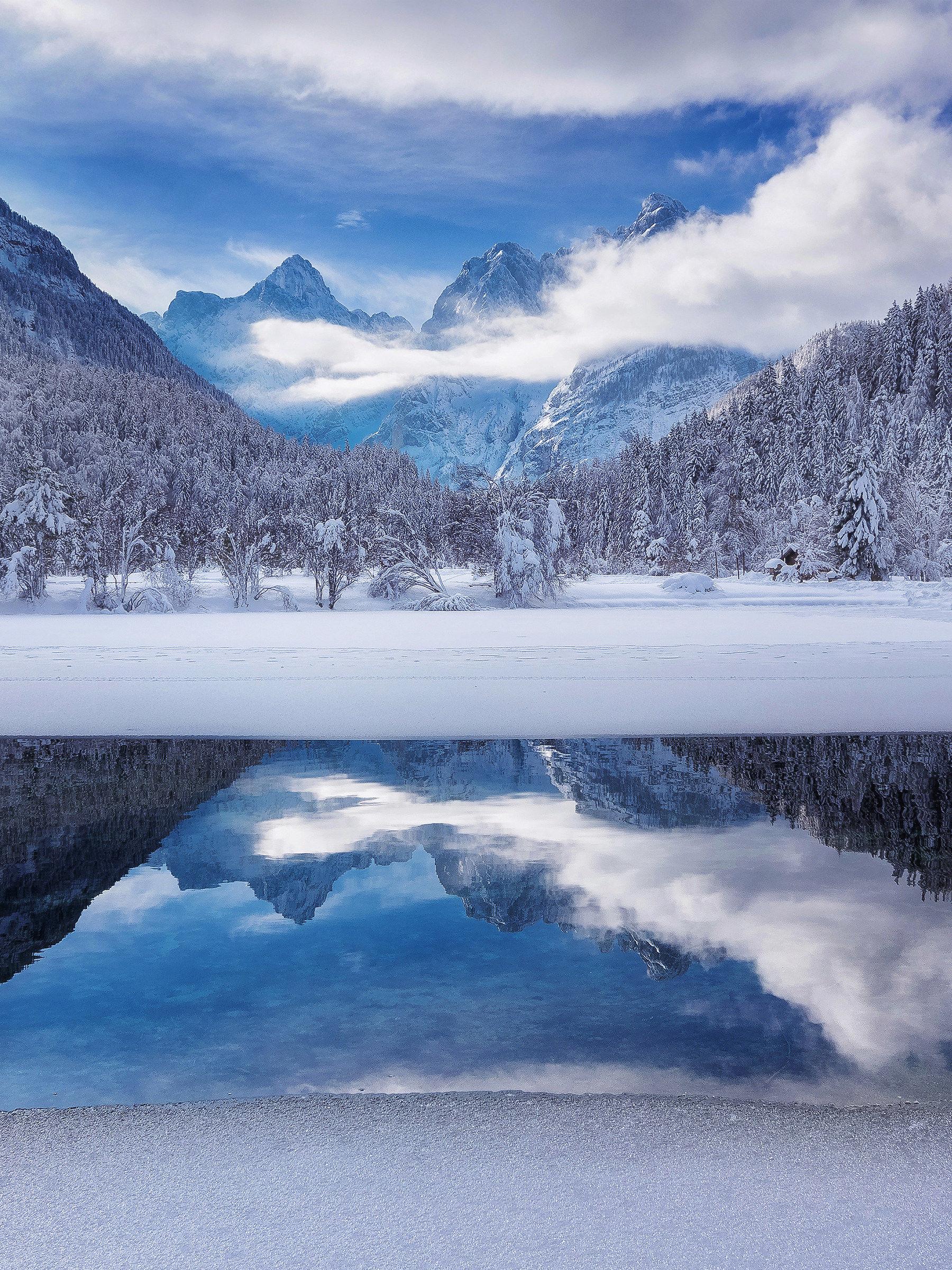 Lake Jasna...