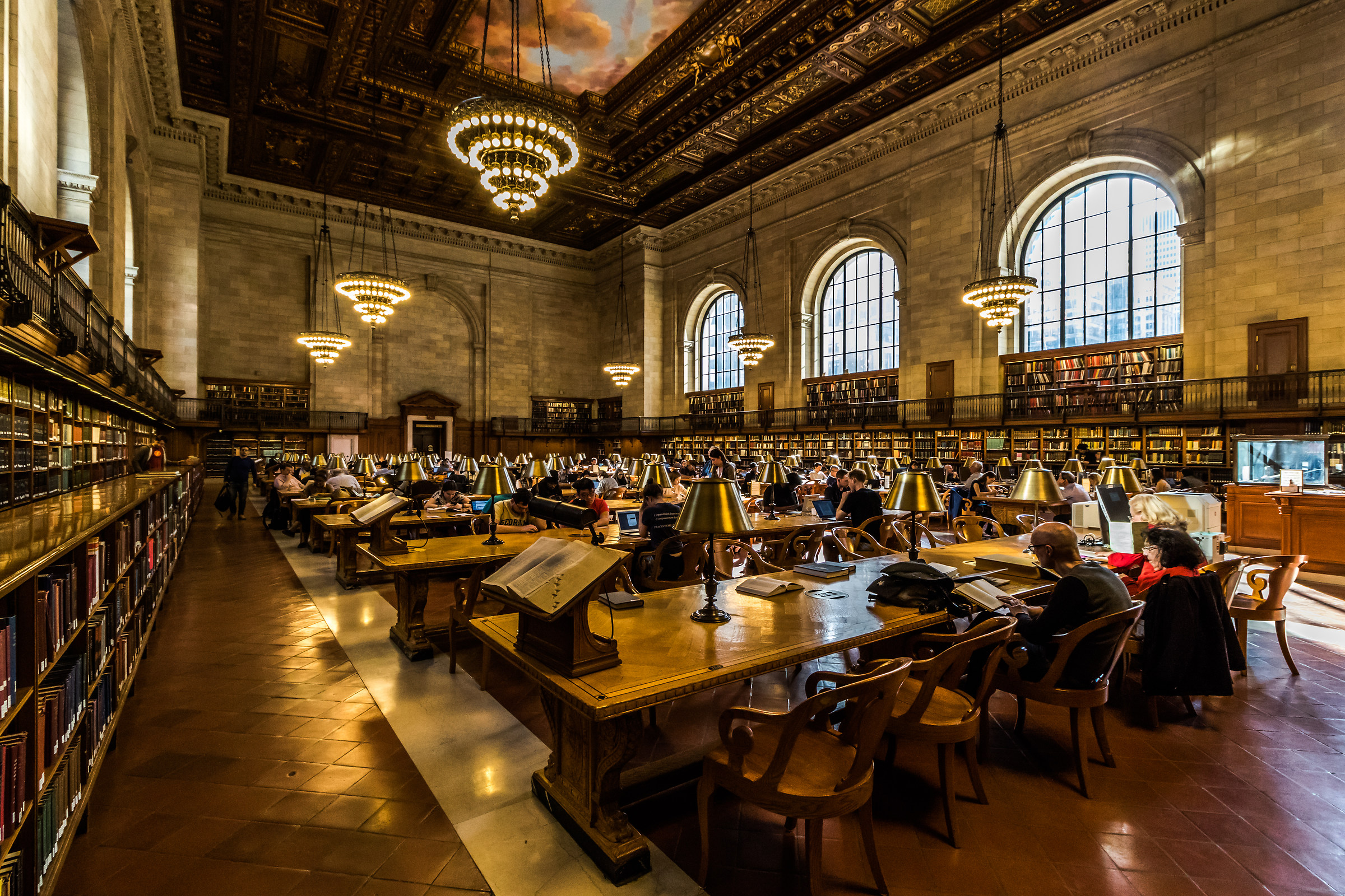 New York Public Library...