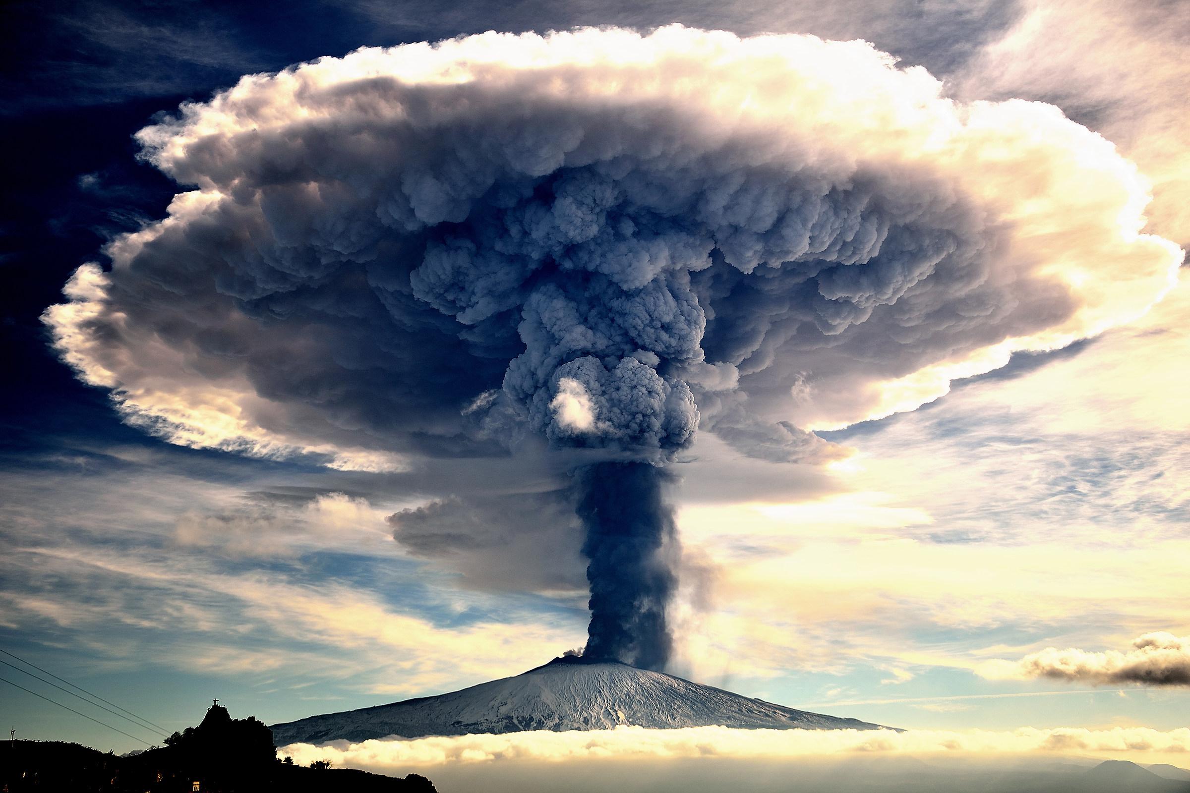 Etna Eruption...