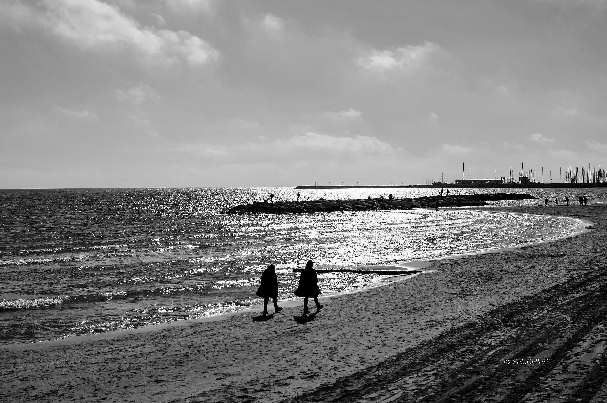 The sea in winter......
