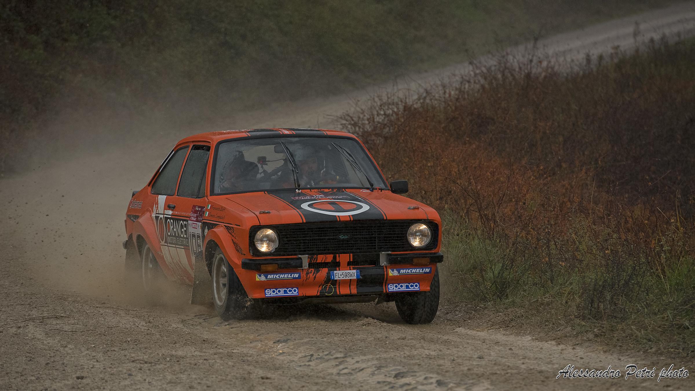Simone Campedelli Ford Escort Mk2...