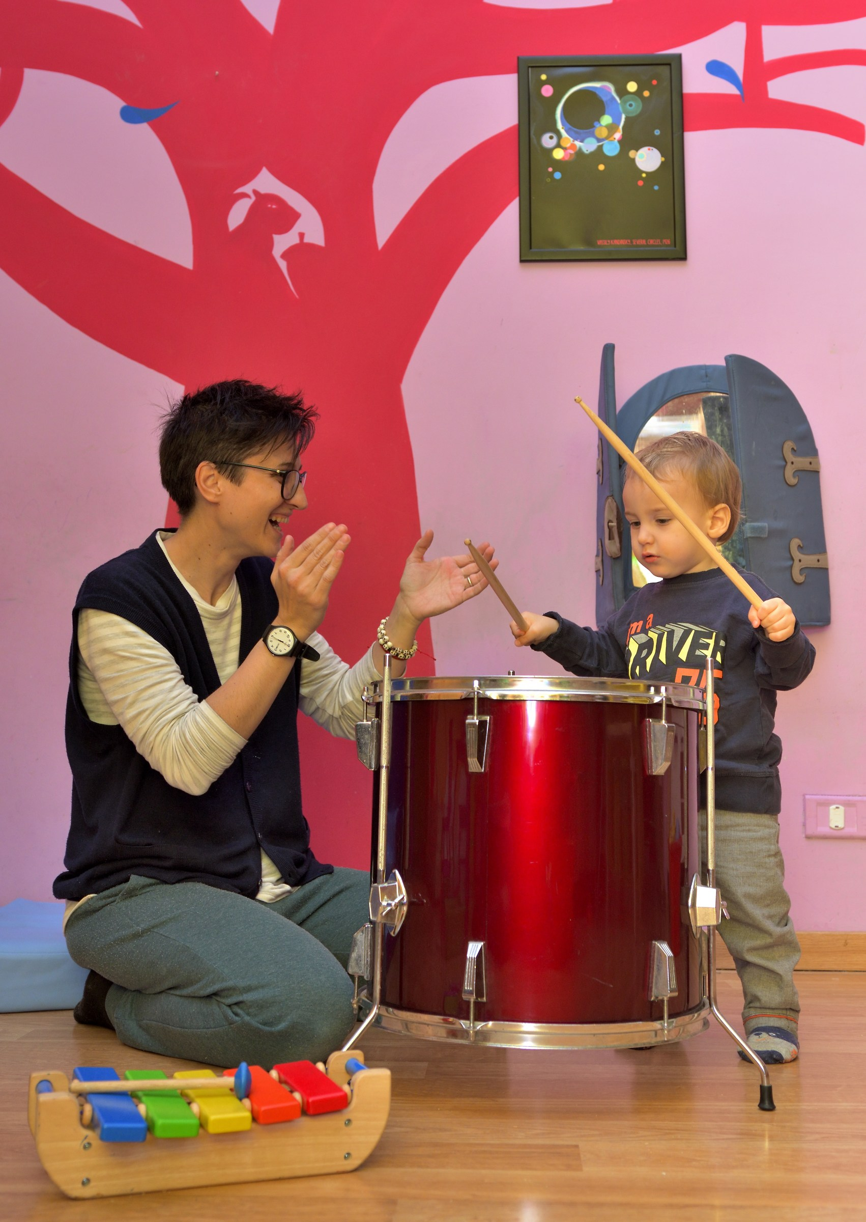 The Dada and the drummer...
