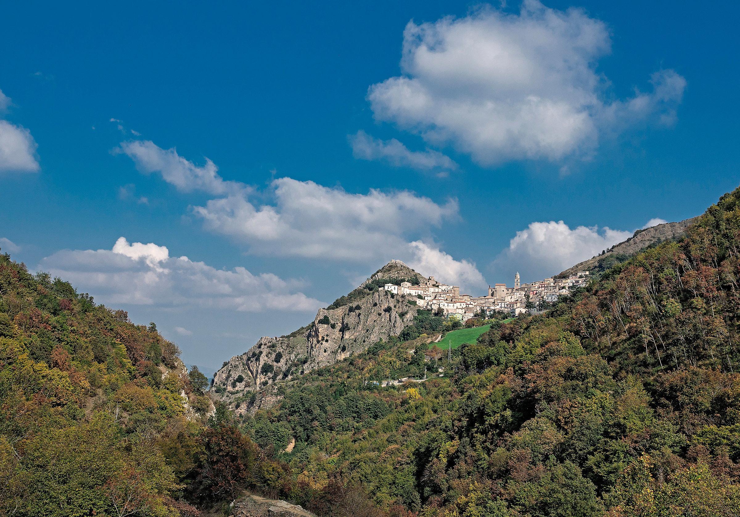 View of San Fele (Power)...