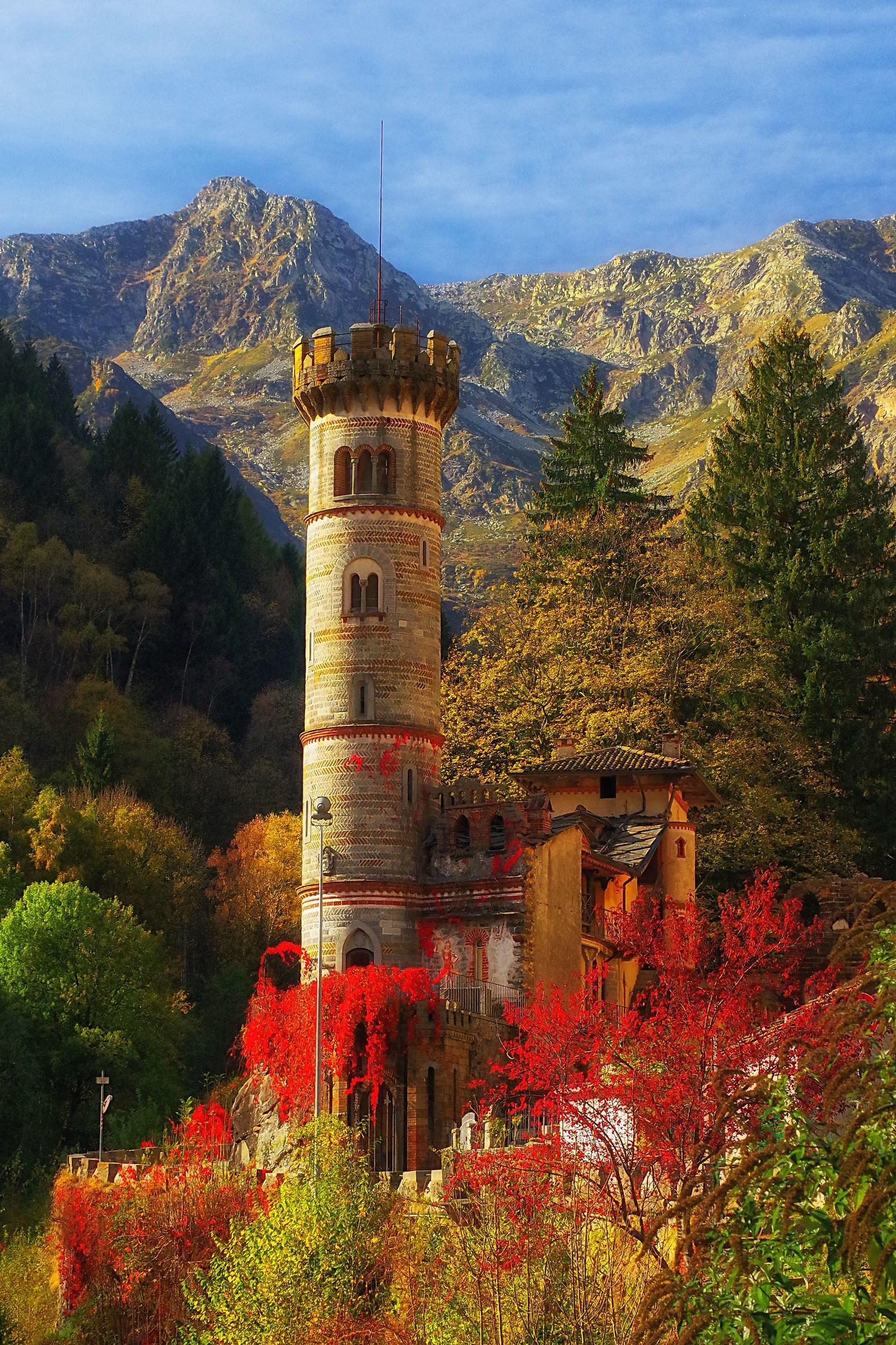 The Castle Rosazza...