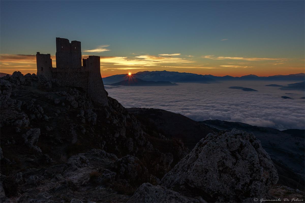 Dawn at Rocca Calascio...