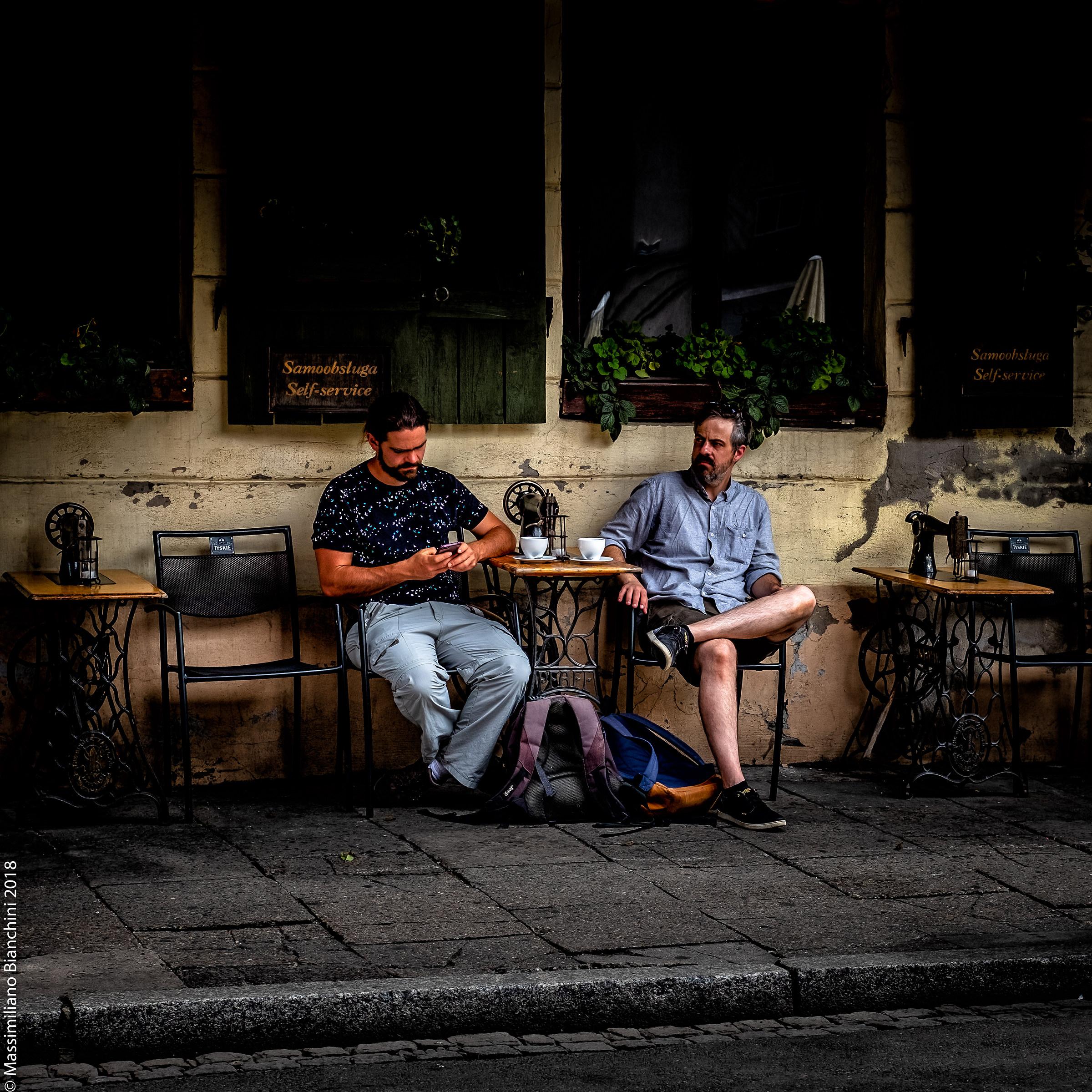 Coffee break in Krakov...