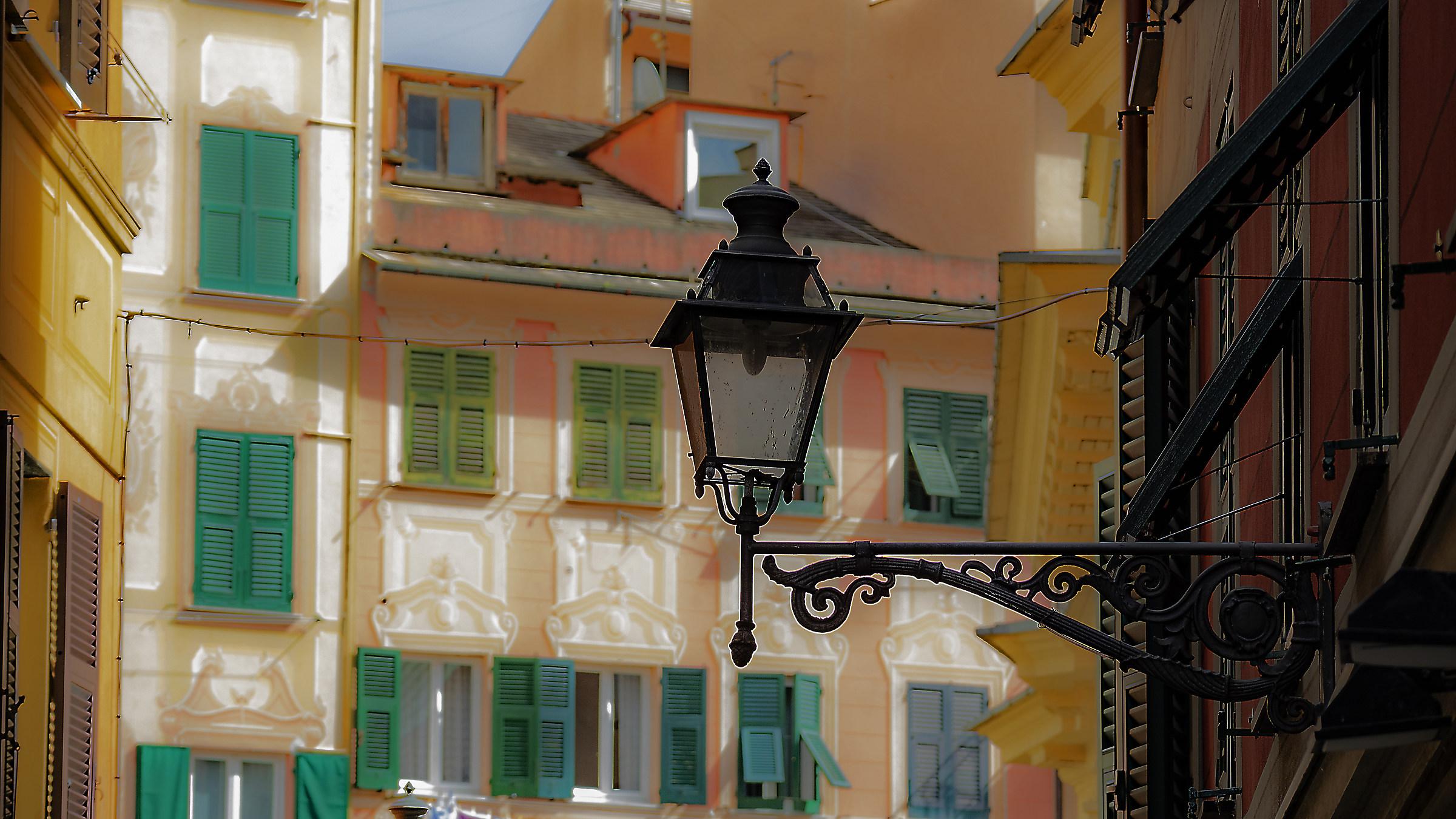 The lamppost of Santa...