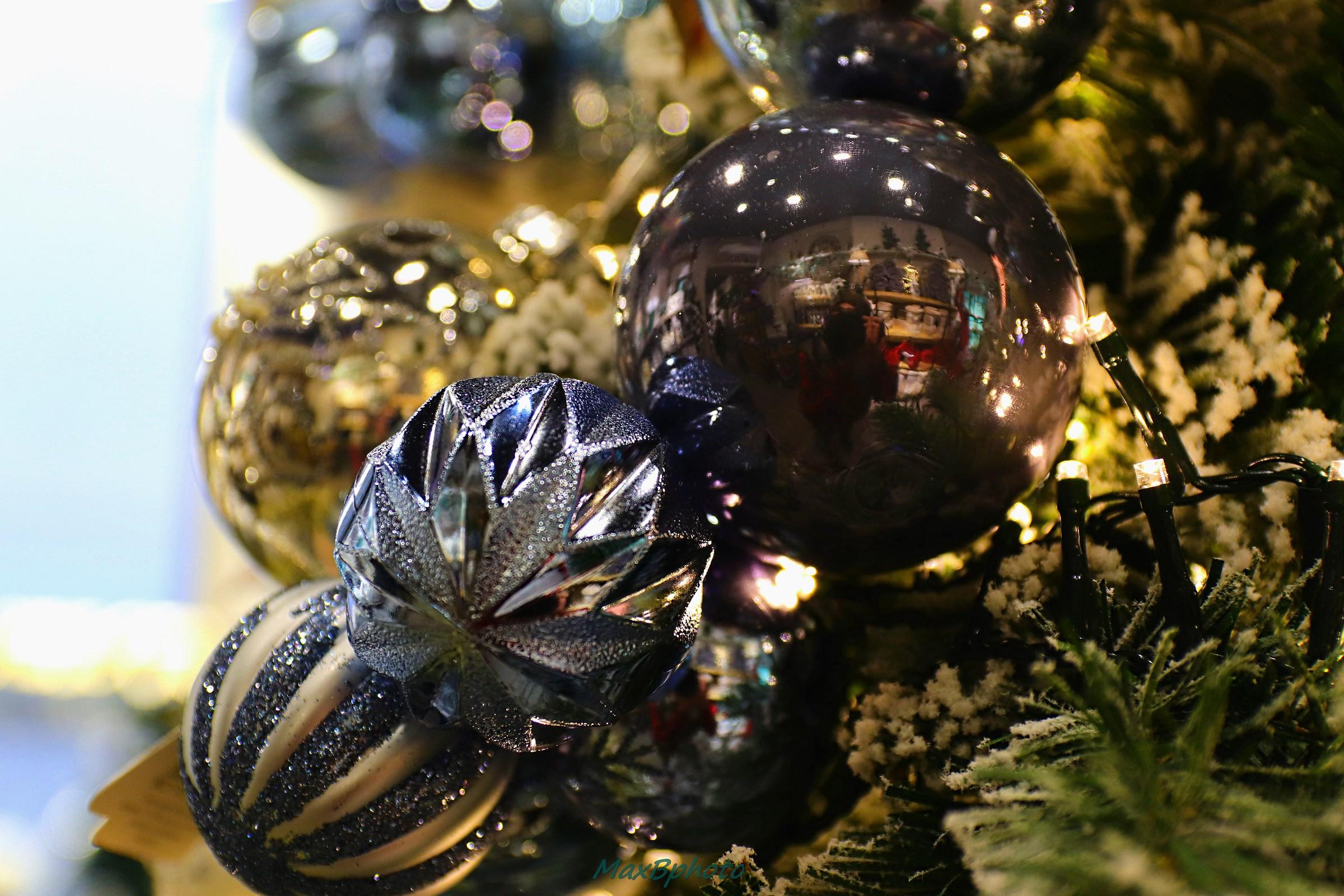 Christmas balls...