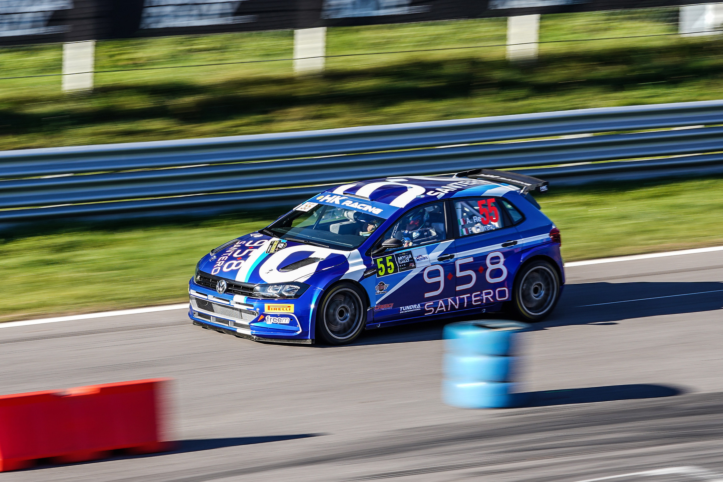 R5 pole at the Monza Rally Show 2018...